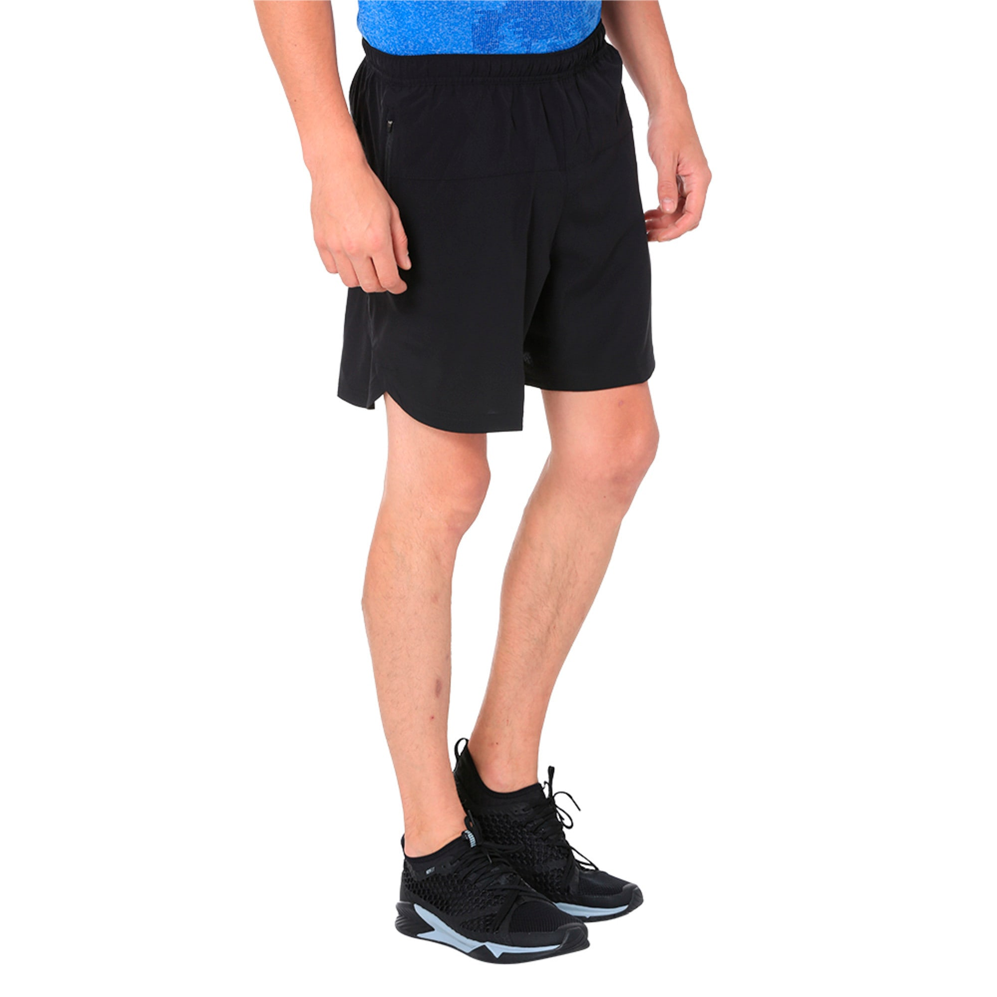 Thumbnail 2 of Pace 7'' Men's Running Shorts, Puma Black, medium-IND