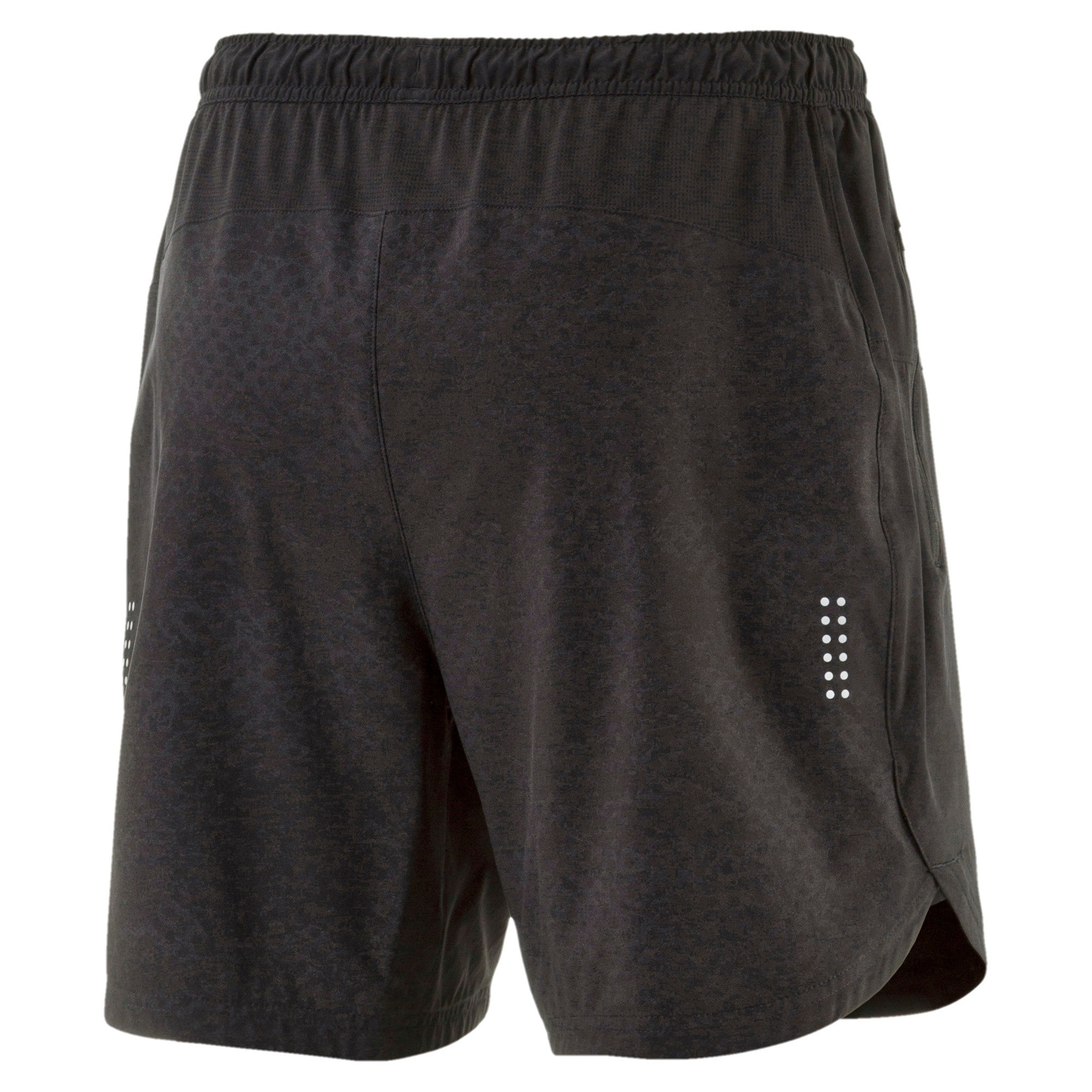 Thumbnail 4 of Pace 7'' Graphic Men's Running Shorts, Puma Black, medium-IND