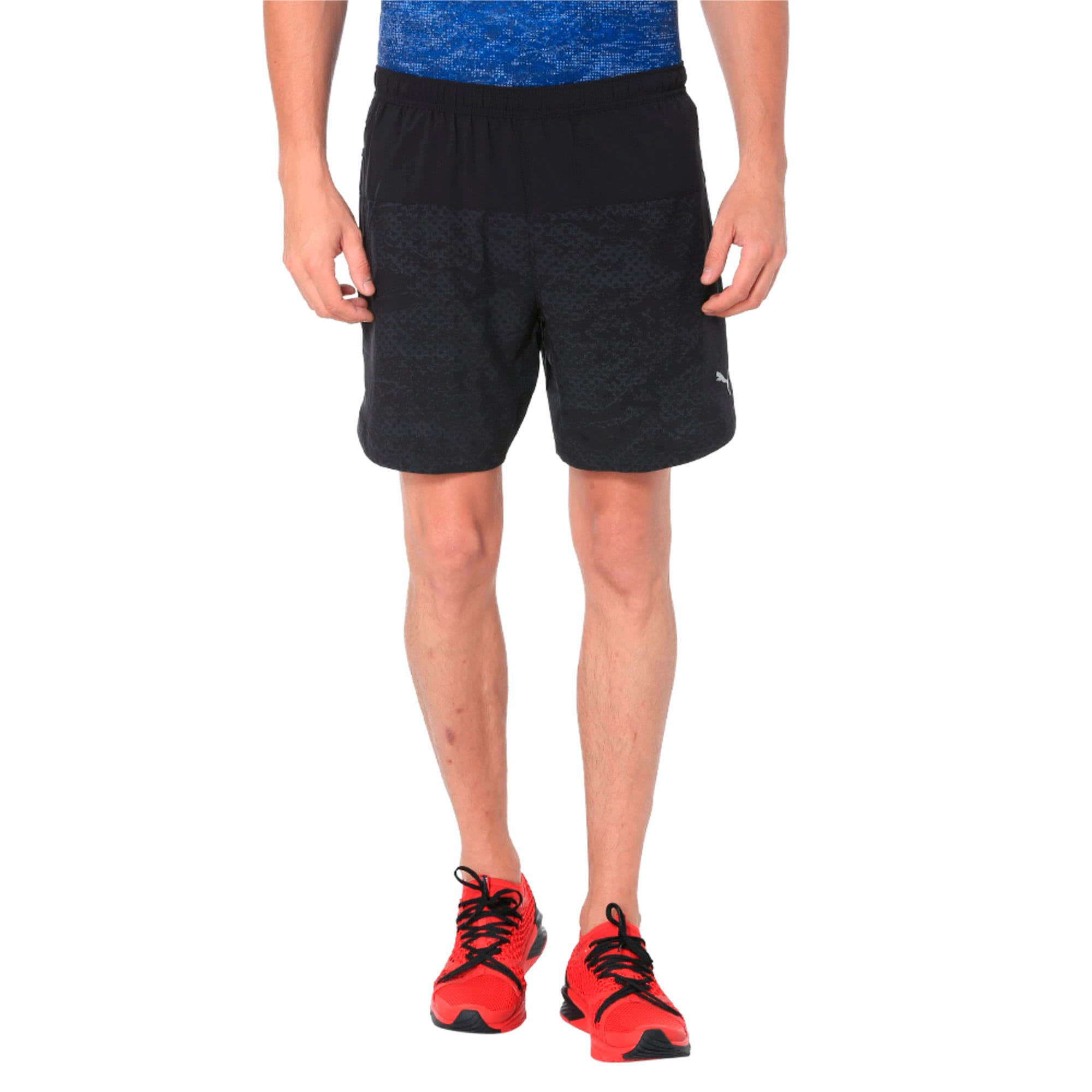 Thumbnail 5 of Pace 7'' Graphic Men's Running Shorts, Puma Black, medium-IND
