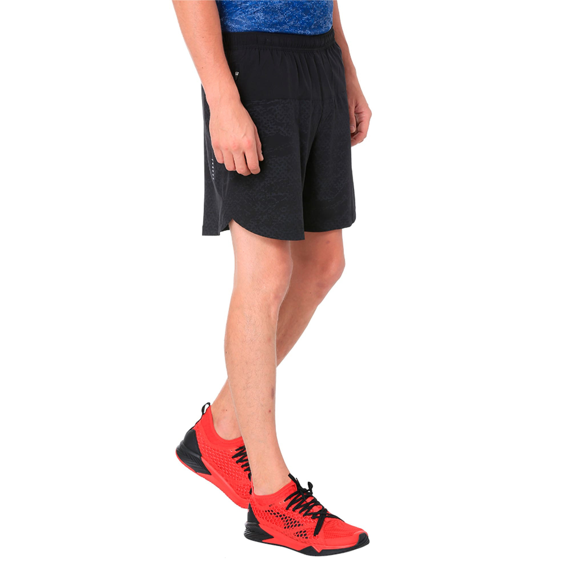 Thumbnail 3 of Pace 7'' Graphic Men's Running Shorts, Puma Black, medium-IND