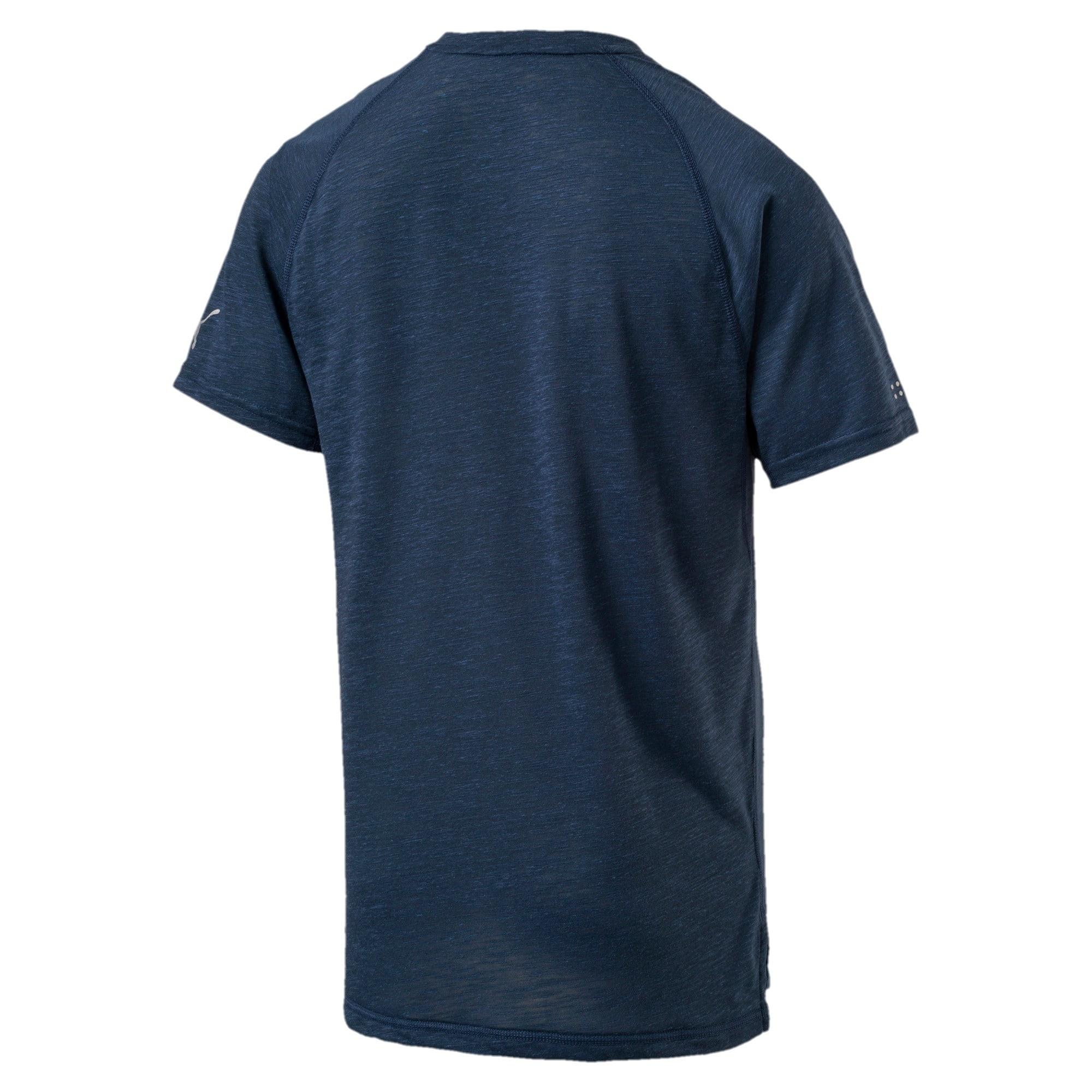 Thumbnail 4 of Energy Short Sleeve Men's Running T-Shirt, Sargasso Sea Heather, medium-IND