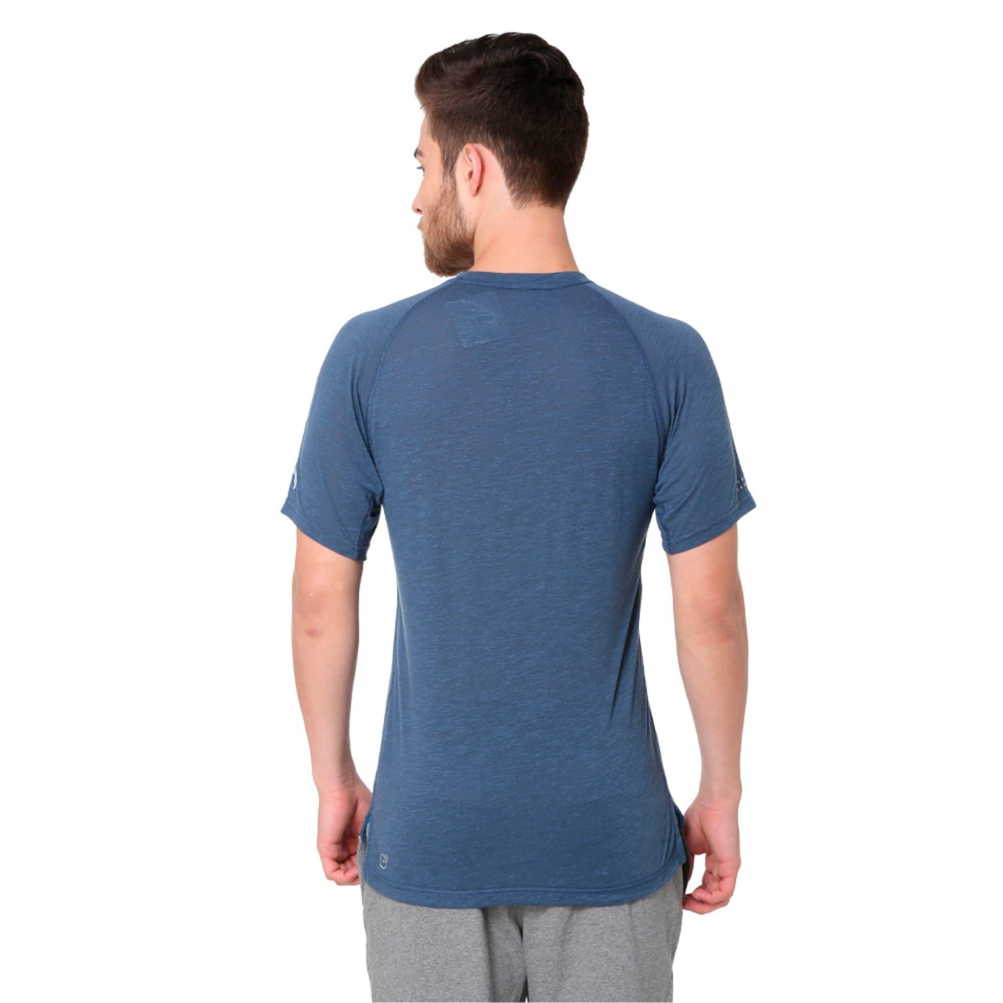 Thumbnail 1 of Energy Short Sleeve Men's Running T-Shirt, Sargasso Sea Heather, medium-IND