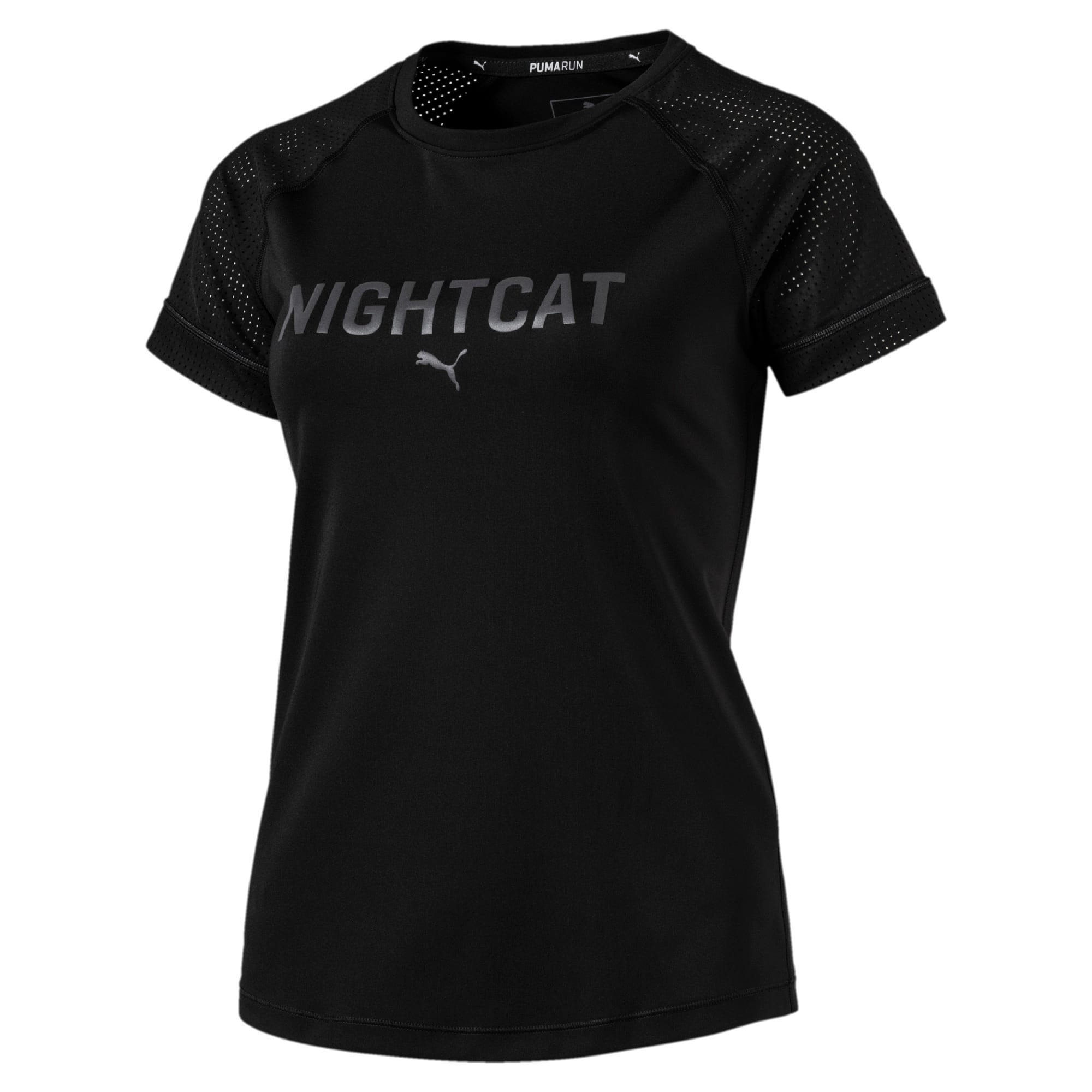 Thumbnail 6 of NightCat Women's Short Sleeve T-Shirt, Puma Black, medium-IND