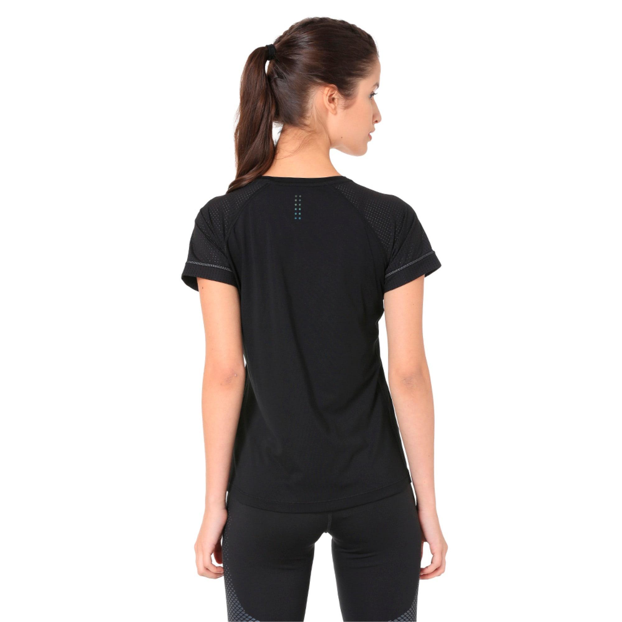 Thumbnail 2 of NightCat Women's Short Sleeve T-Shirt, Puma Black, medium-IND