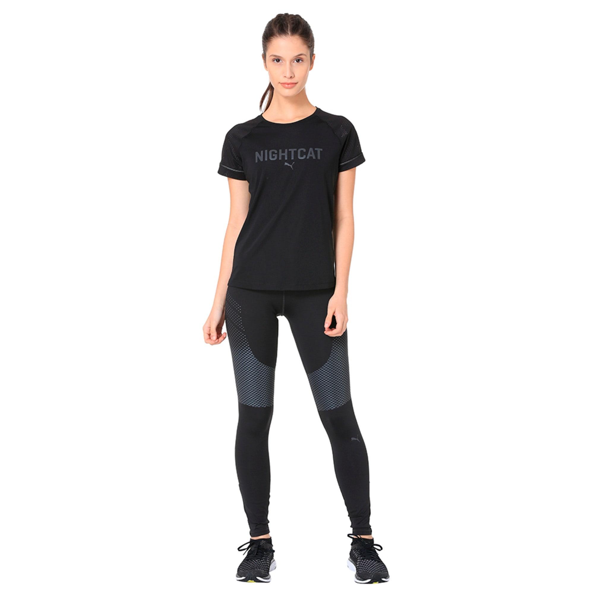 Thumbnail 3 of NightCat Women's Short Sleeve T-Shirt, Puma Black, medium-IND