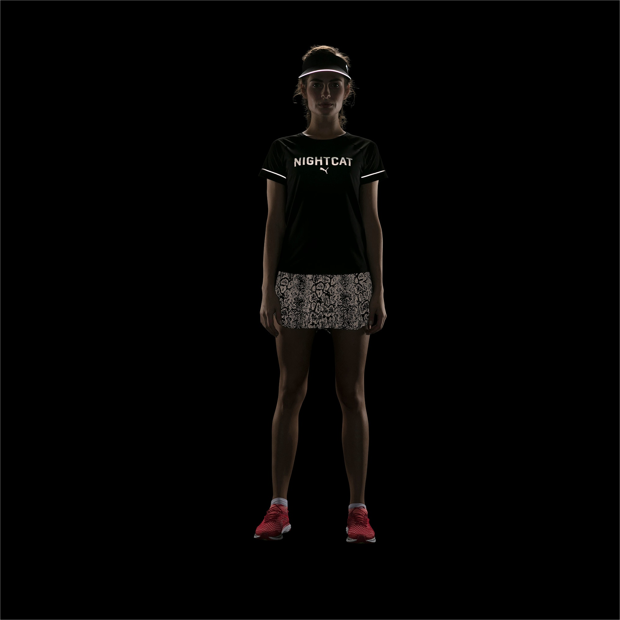 Thumbnail 5 of NightCat Women's Short Sleeve T-Shirt, Puma Black, medium-IND