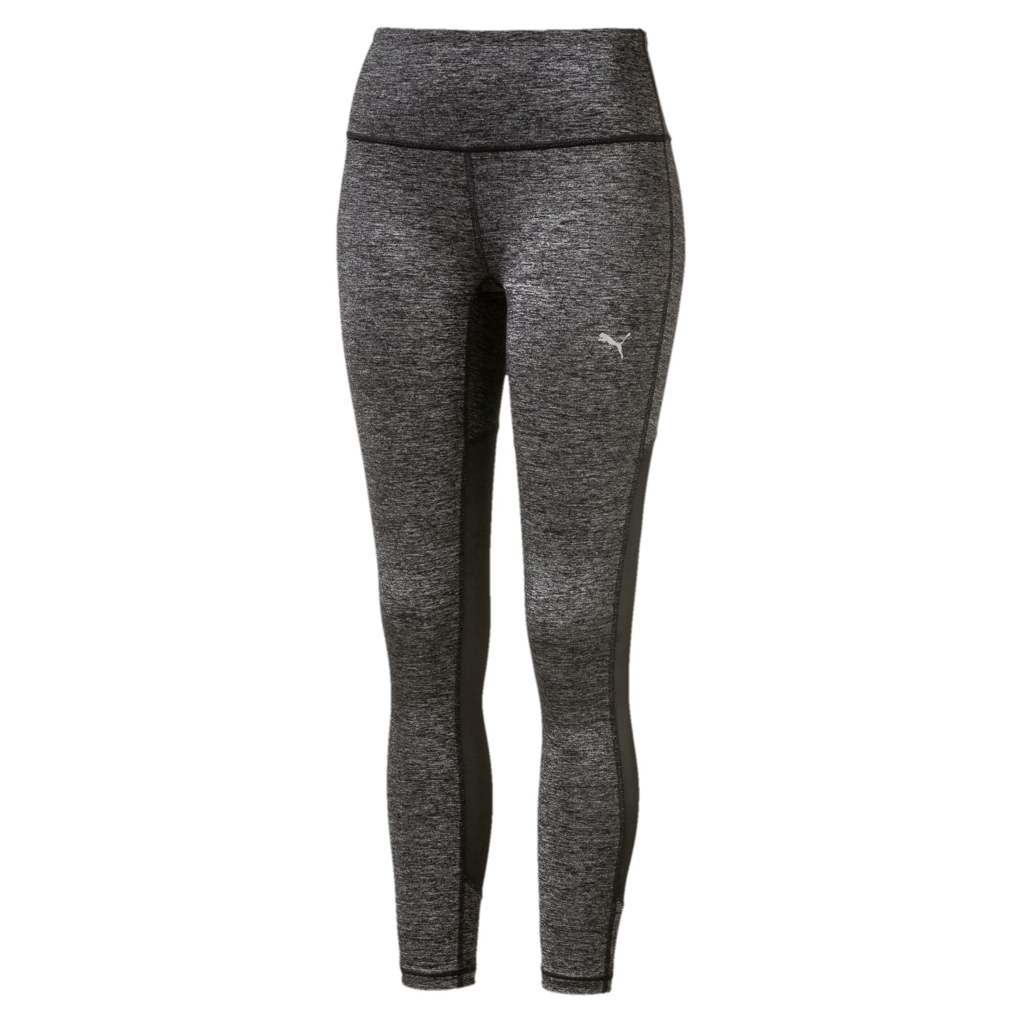 Thumbnail 1 of Explosive Run Women's 7/8 Tights, Puma Black Heather-Puma Blck, medium-IND