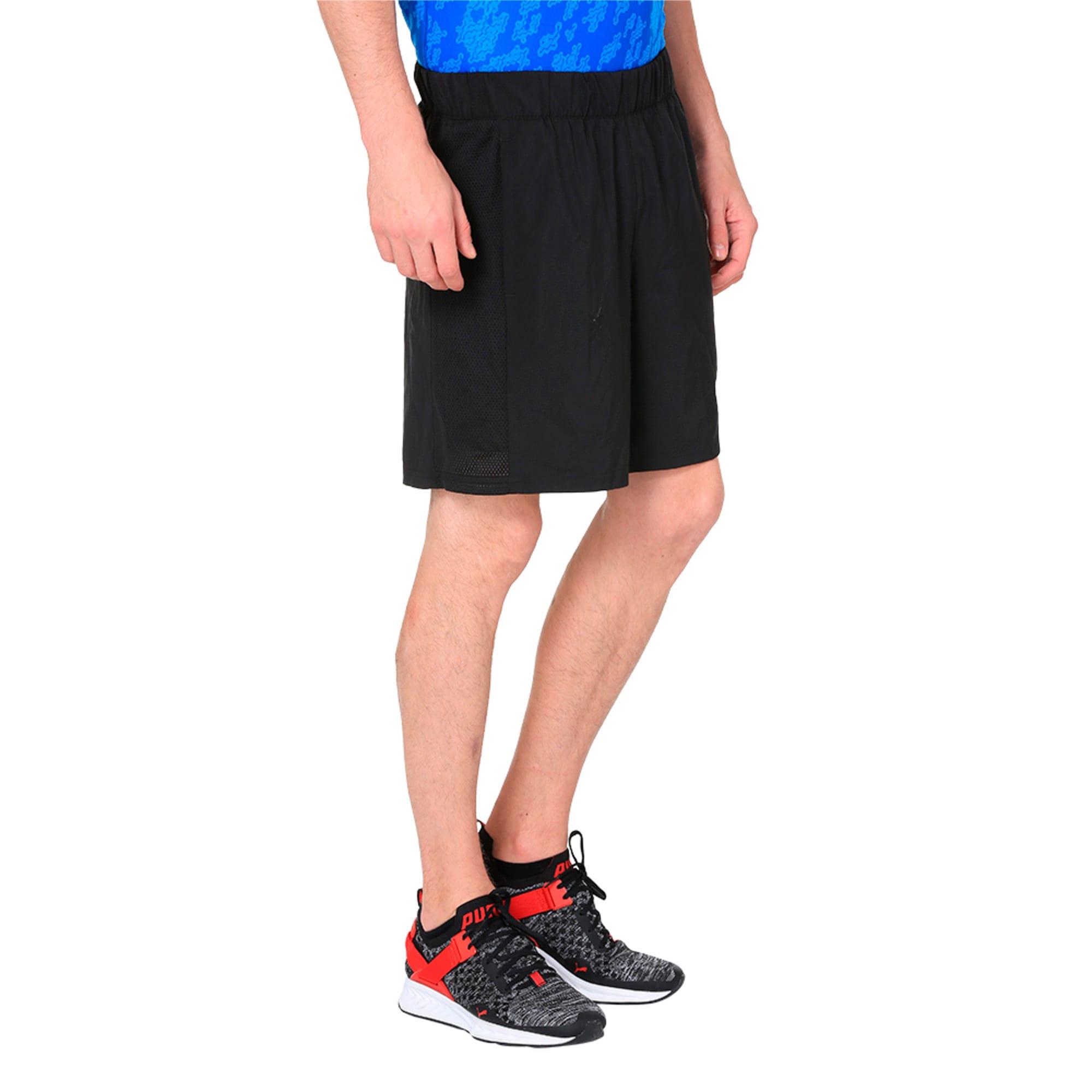 Thumbnail 5 of TECH Woven 2 in 1 Men's Training Shorts, Puma Black-Puma Black, medium-IND