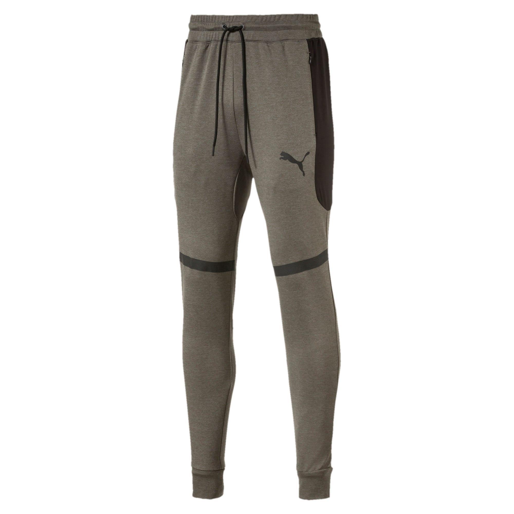 Thumbnail 1 of Trackster Men's Tech Sweatpants, Castor Gray Heather, medium-IND