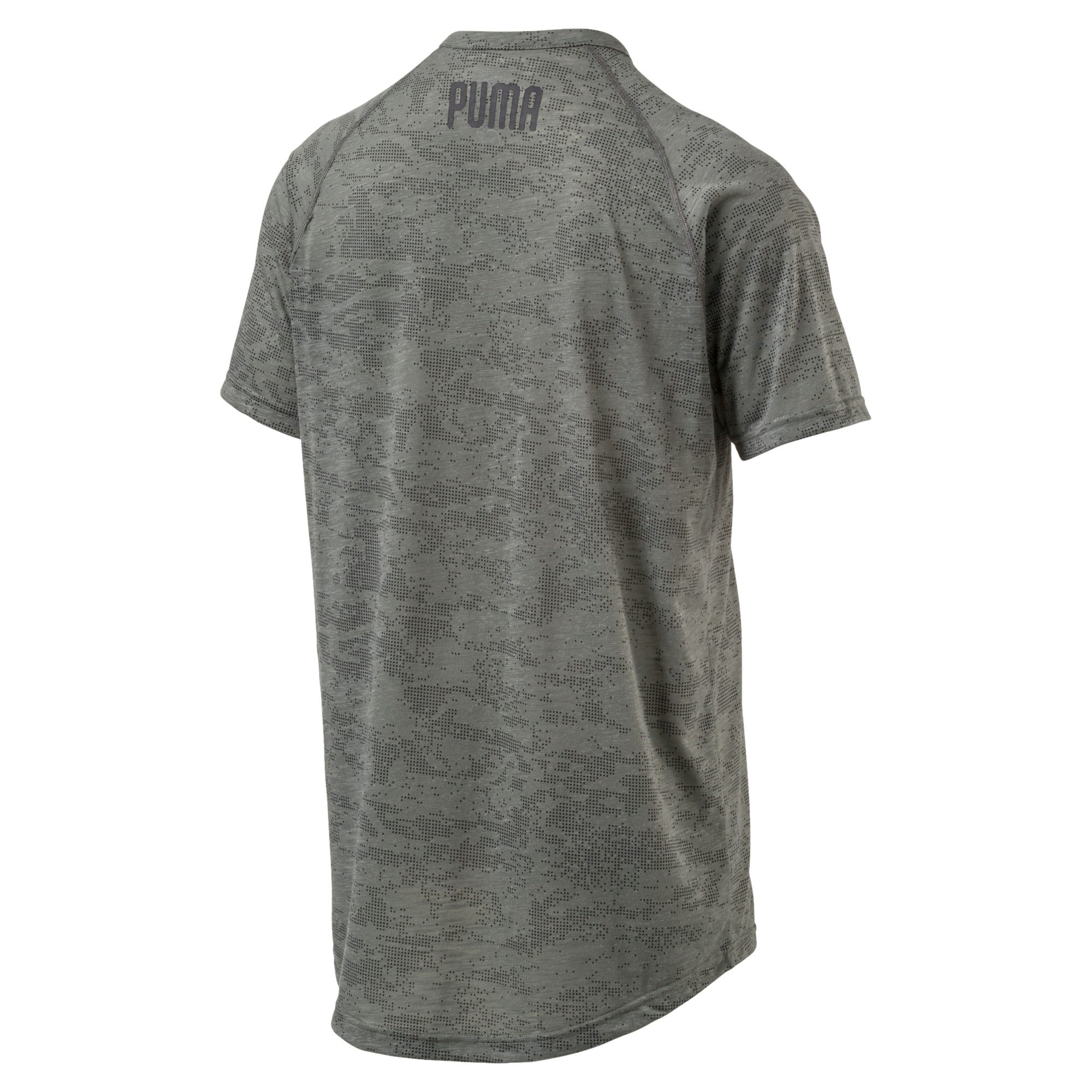drirelease Men's Short Sleeve Training Top, Castor Gray Heather, large-IND