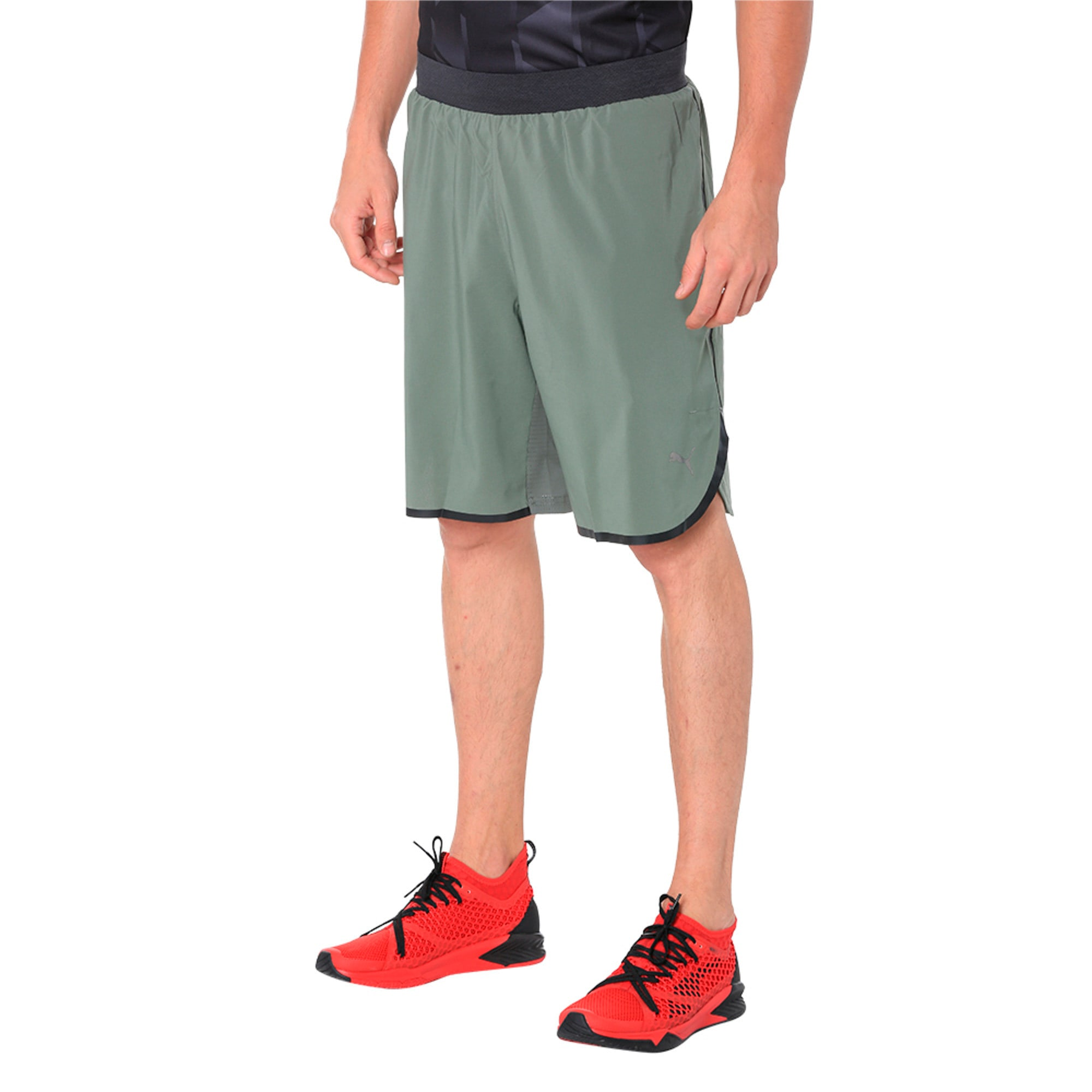Thumbnail 2 of Energy Laser Shorts, Castor Gray-Dark GrayHeather, medium-IND