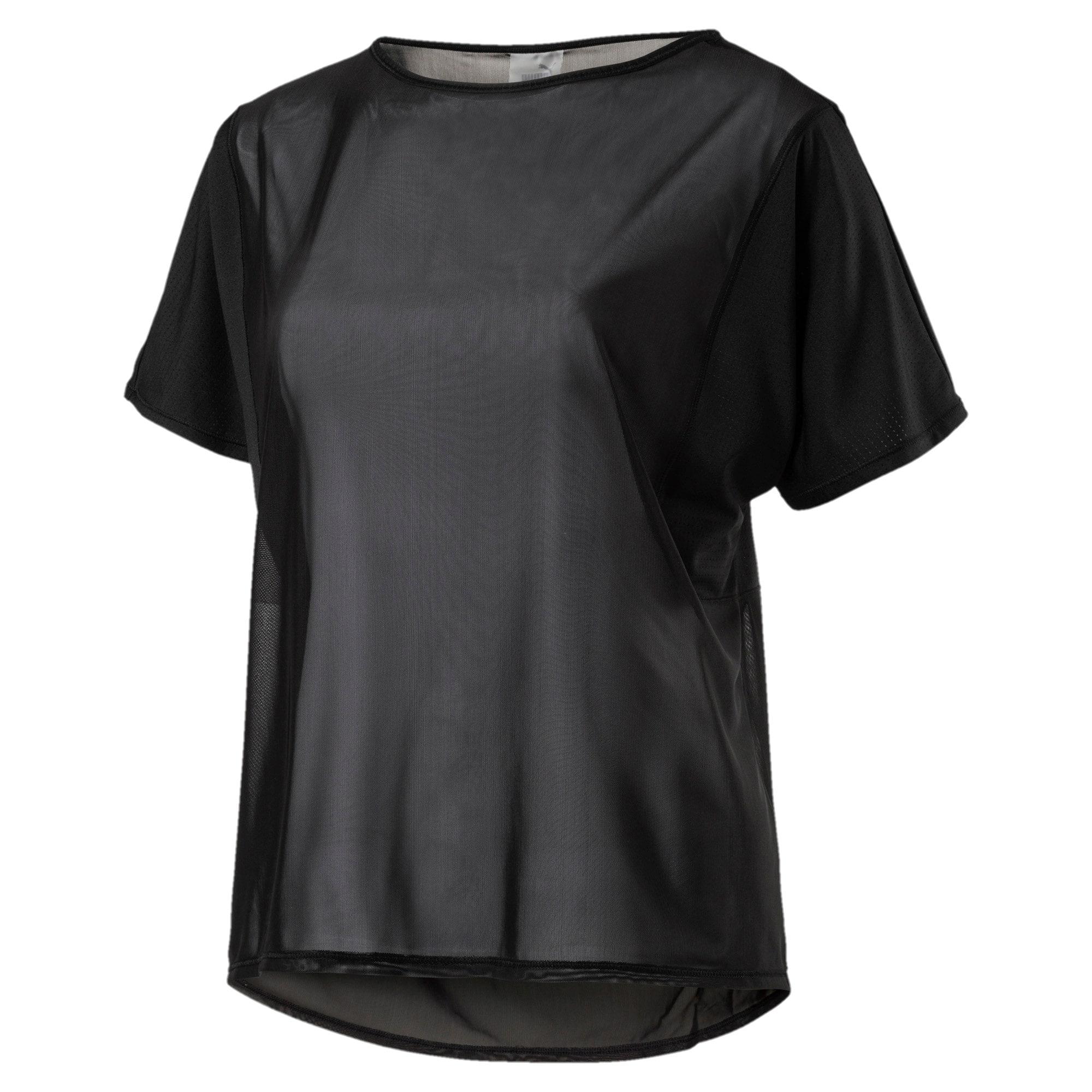 Thumbnail 1 of Explosive Women's Short Sleeve Training Top, Puma Black, medium-IND