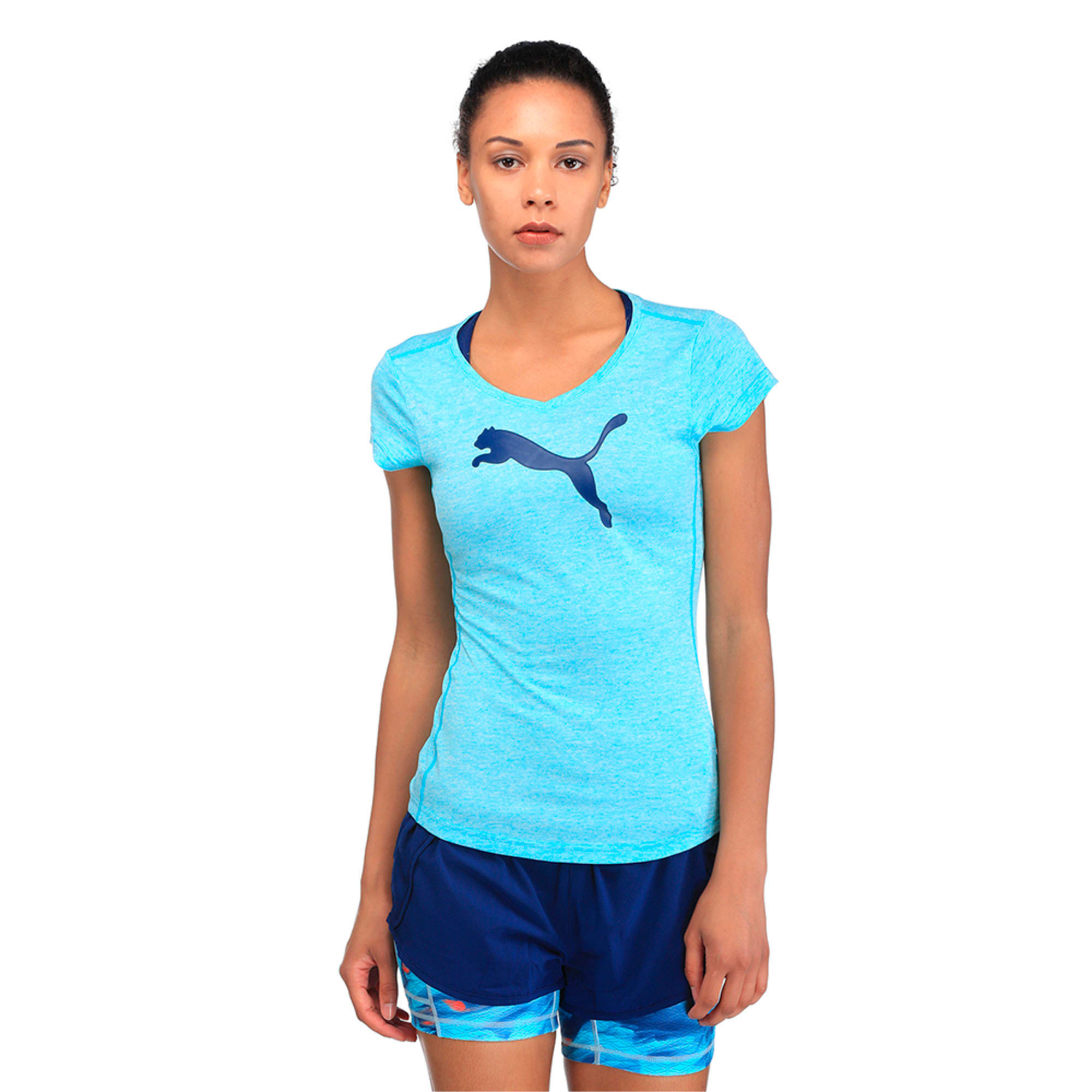 Heather Cat Tee, Nrgy Turquoise Heather, large-IND