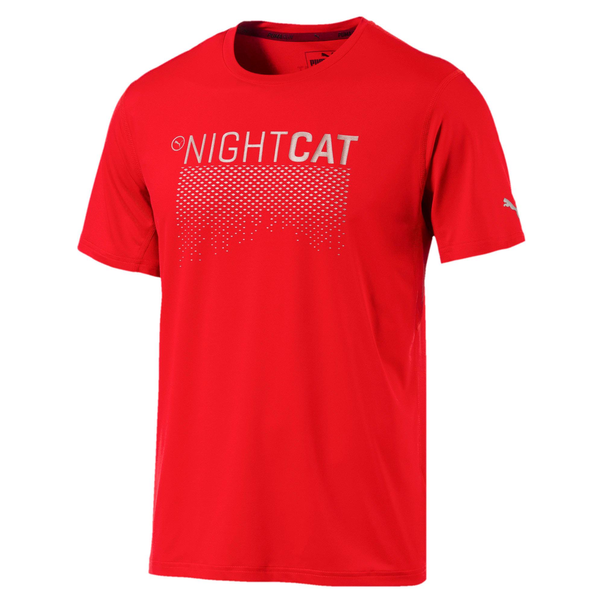 Thumbnail 1 of NightCat Men's Short Sleeve T-Shirt, Flame Scarlet, medium-IND