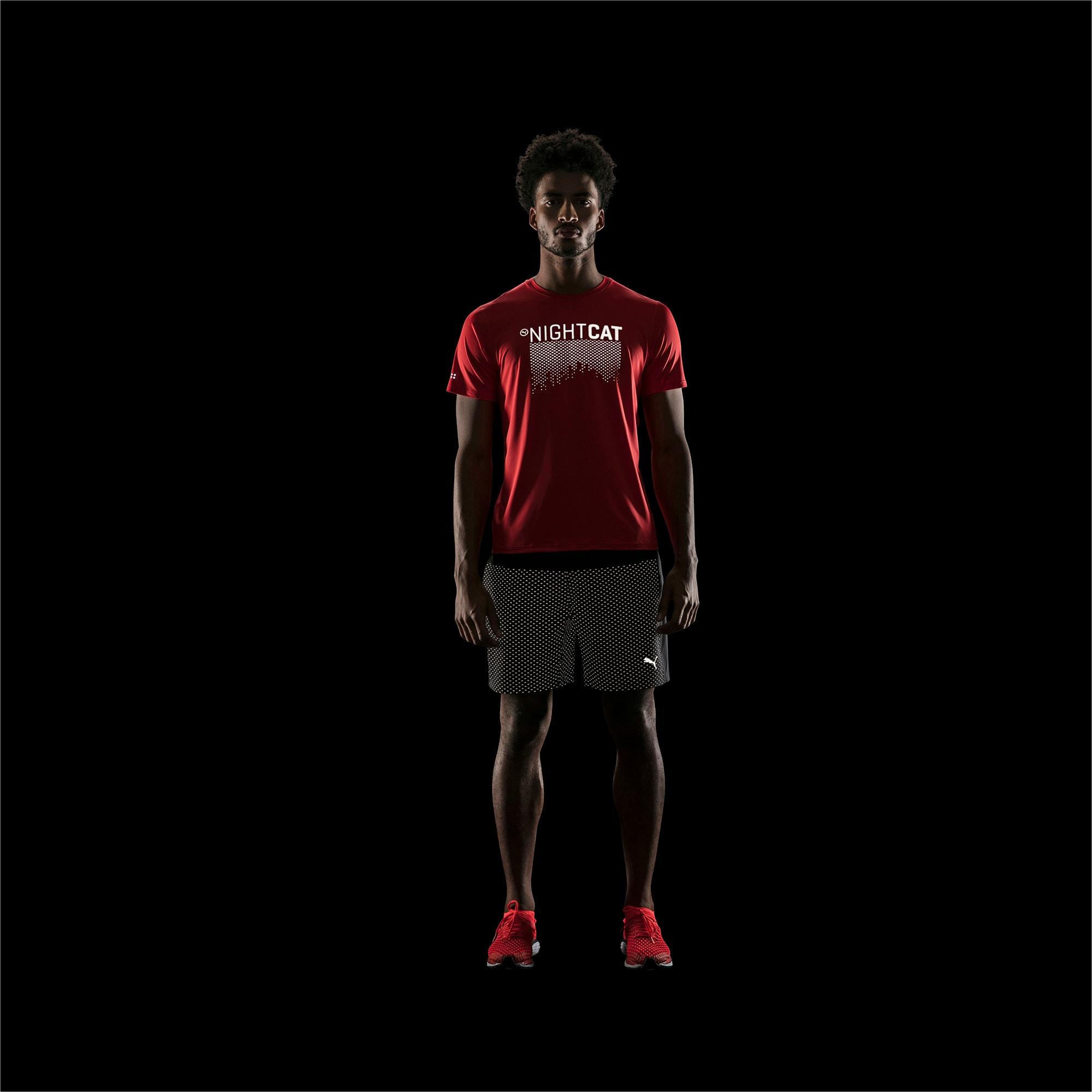 Thumbnail 3 of NightCat Men's Short Sleeve T-Shirt, Flame Scarlet, medium-IND