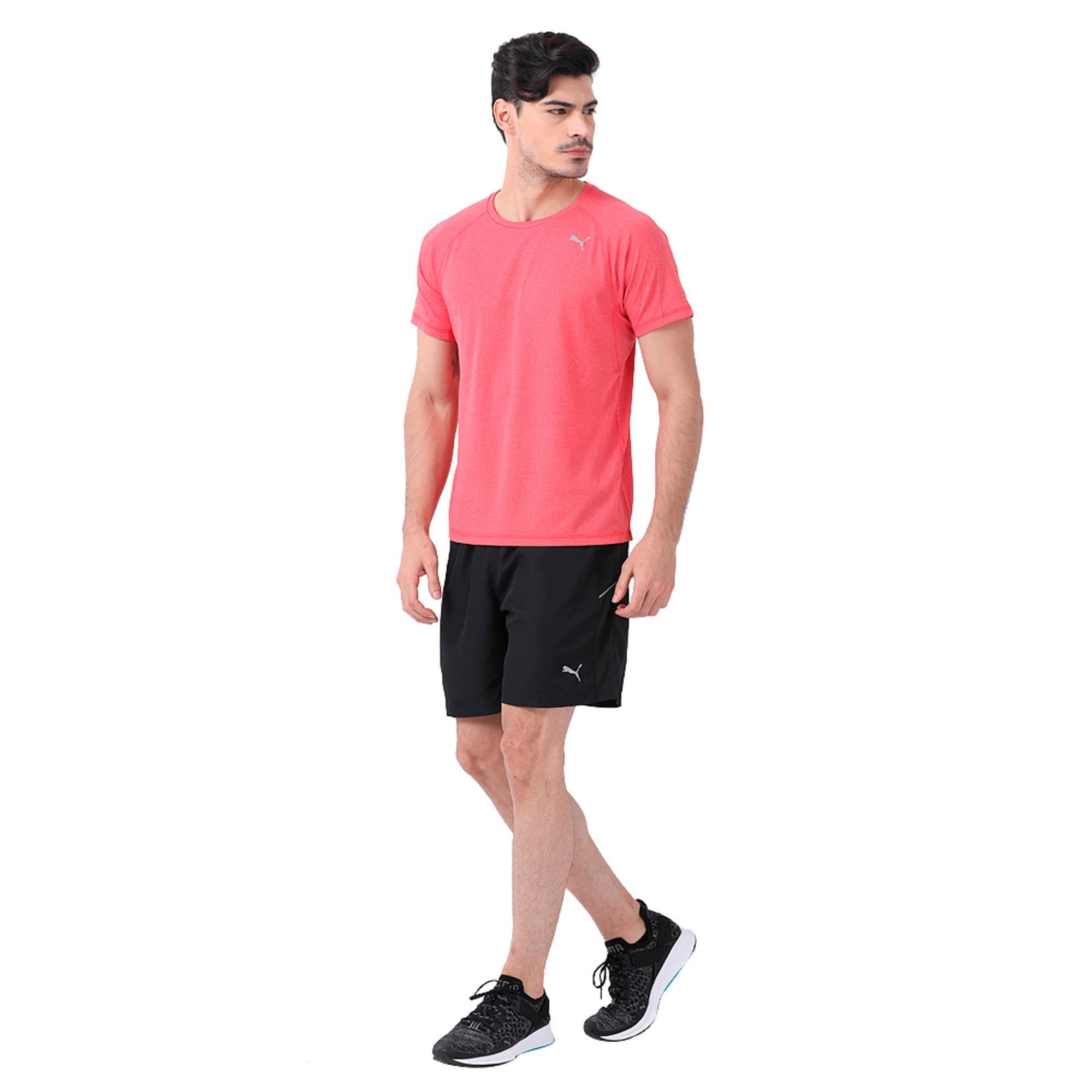 "Thumbnail 1 of Core-Run 7"" Shorts, Puma Black, medium-IND"
