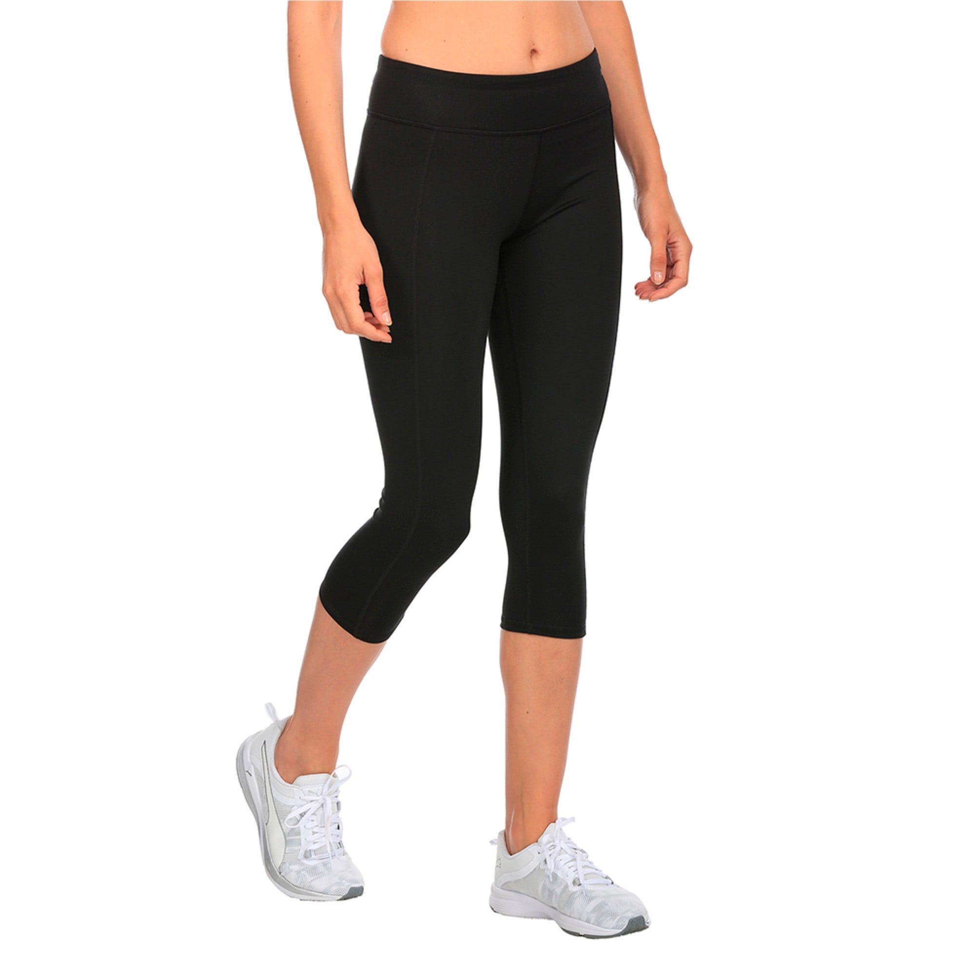 Thumbnail 2 of Essential 3 4 Tight, Puma Black, medium-IND