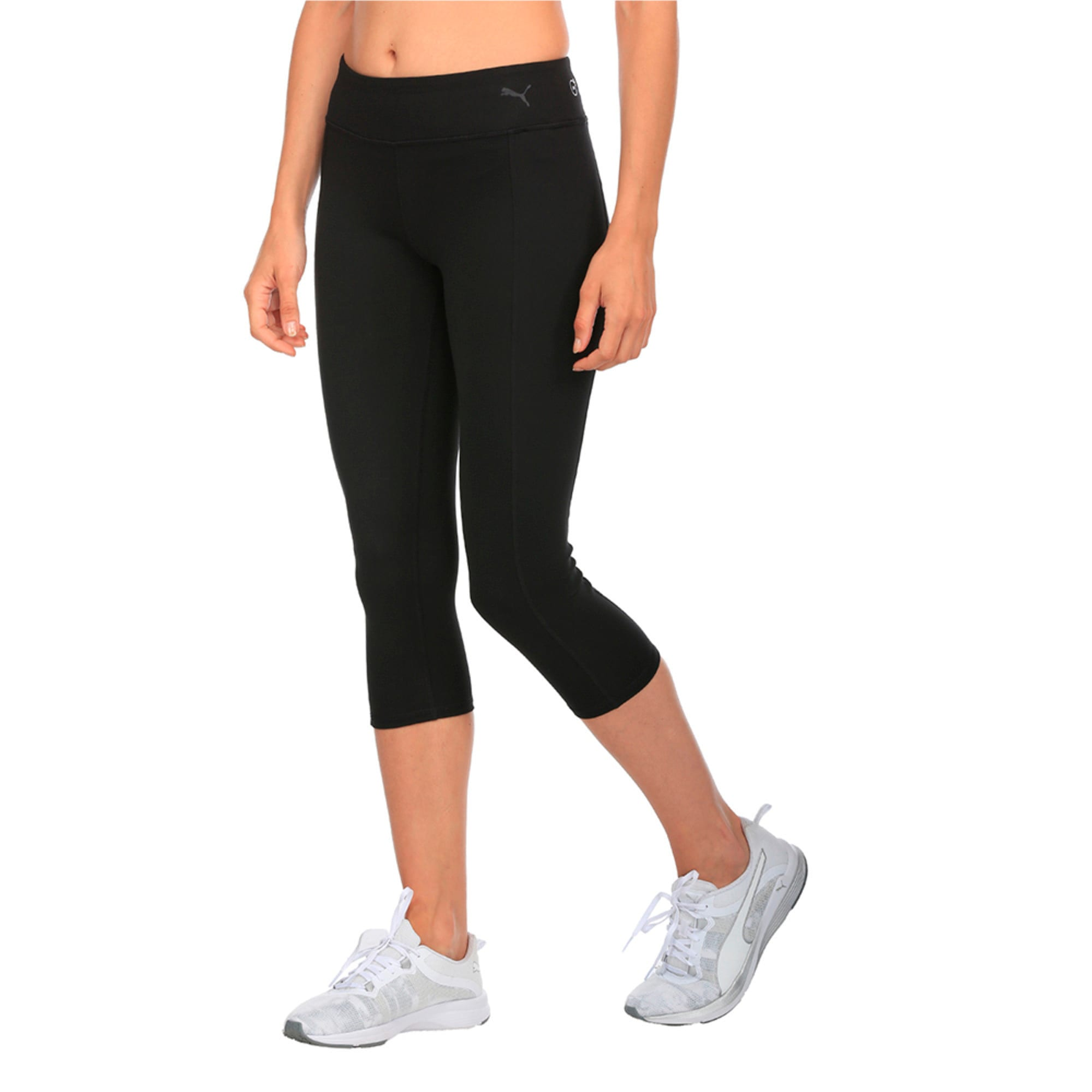 Thumbnail 3 of Essential 3 4 Tight, Puma Black, medium-IND