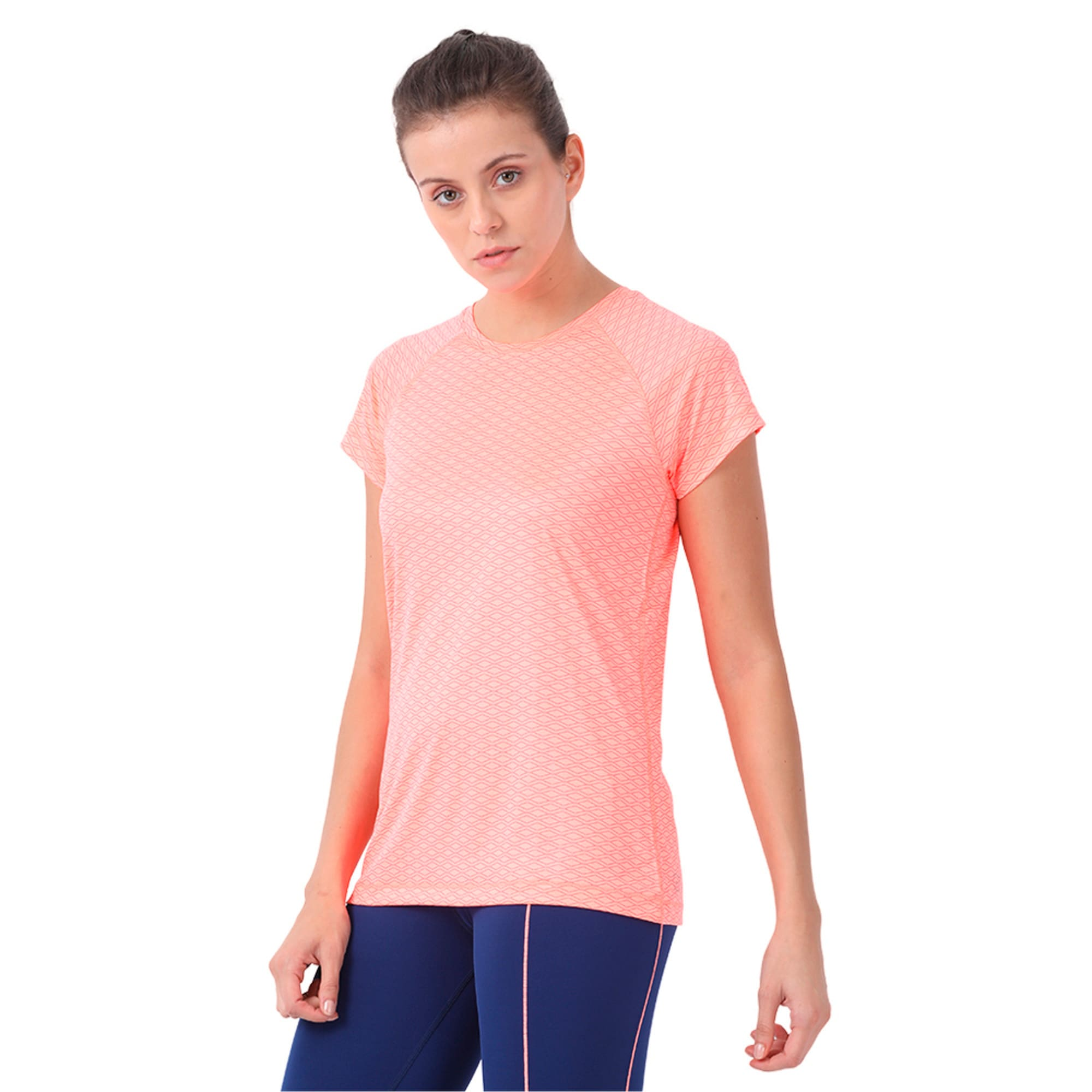 Thumbnail 2 of Graphic S S Tee W, Nrgy Peach-AOP, medium-IND