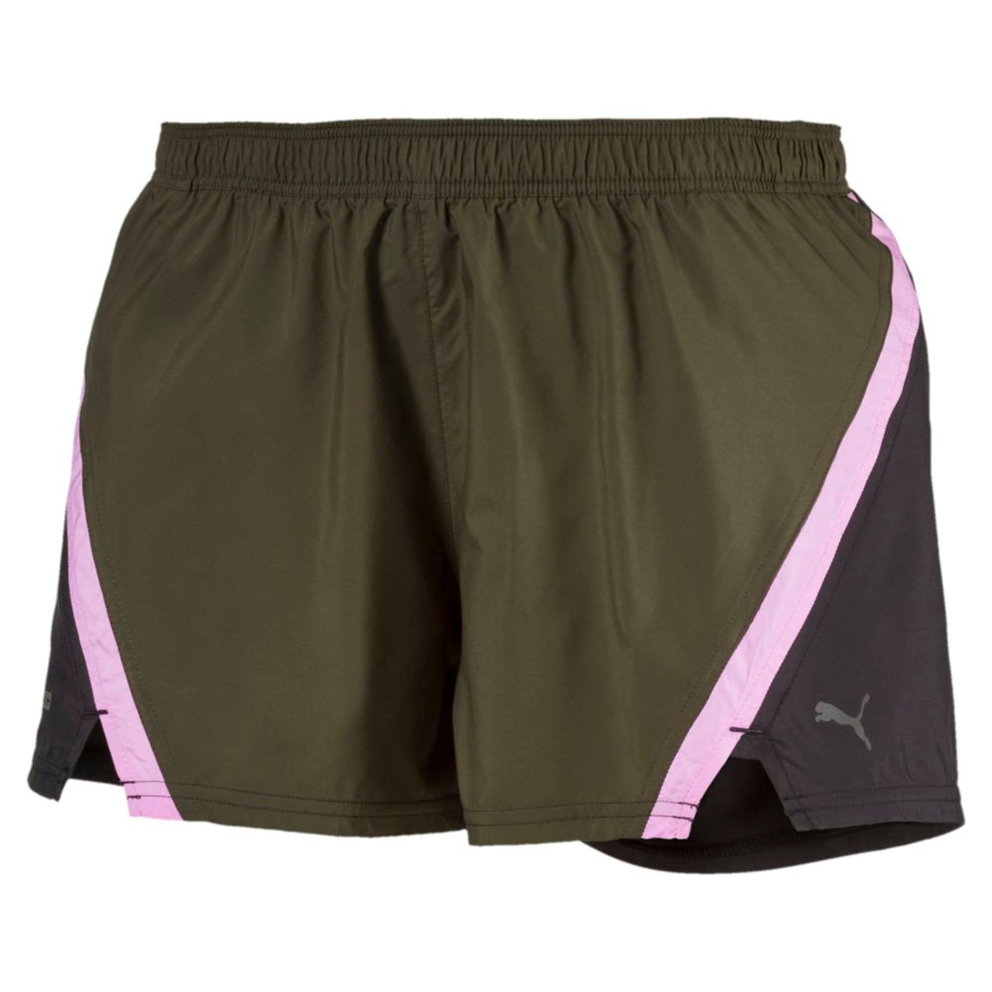 Thumbnail 4 of Blast 3'' Women's Training Shorts, Forest Night, medium-IND