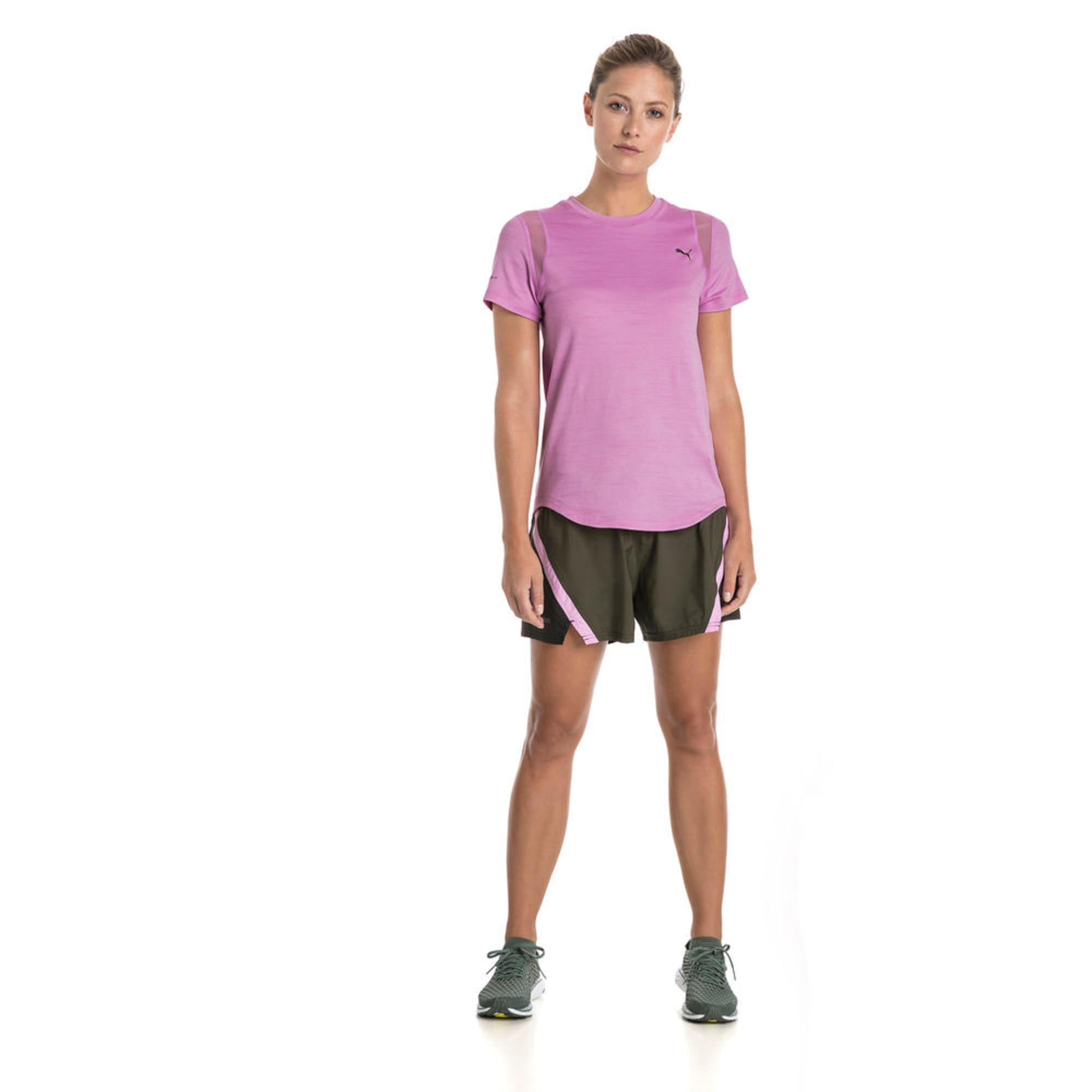 Thumbnail 3 of Blast 3'' Women's Training Shorts, Forest Night, medium-IND