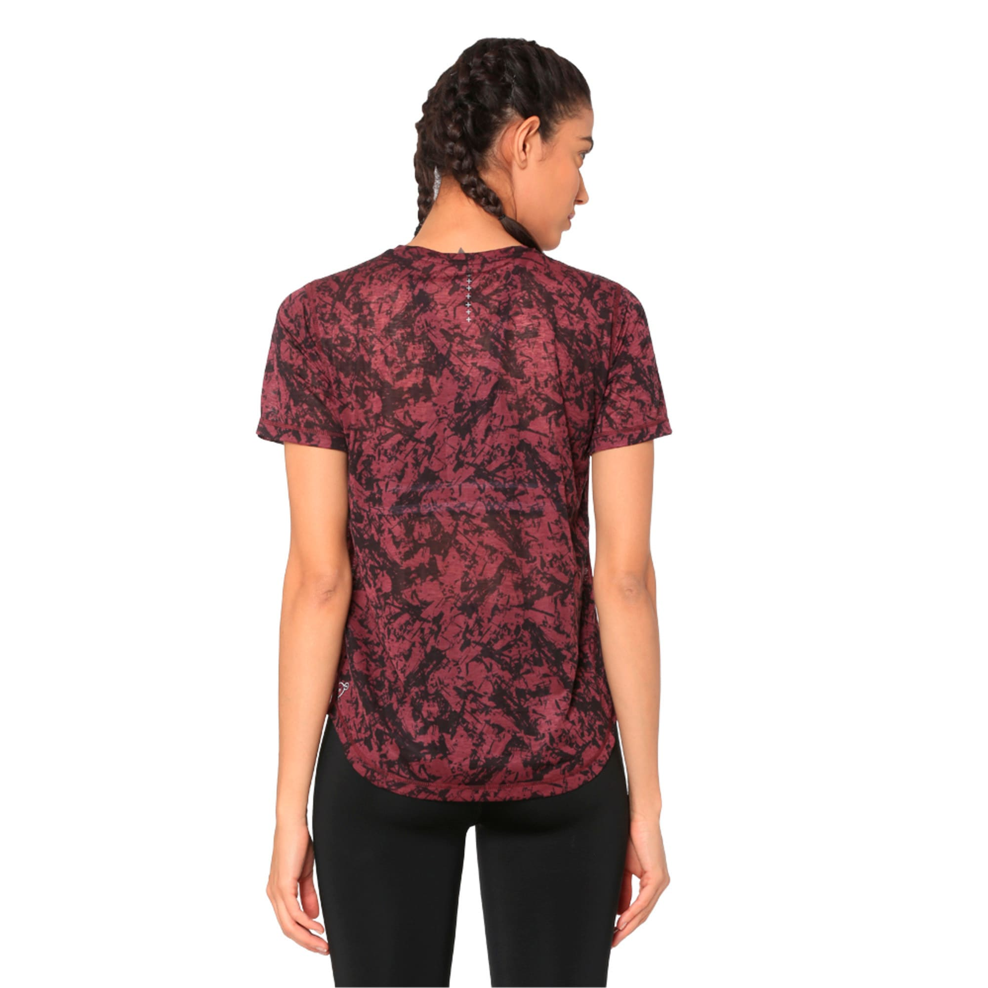 Thumbnail 5 of Graphic Women's Training Top, fig, medium-IND