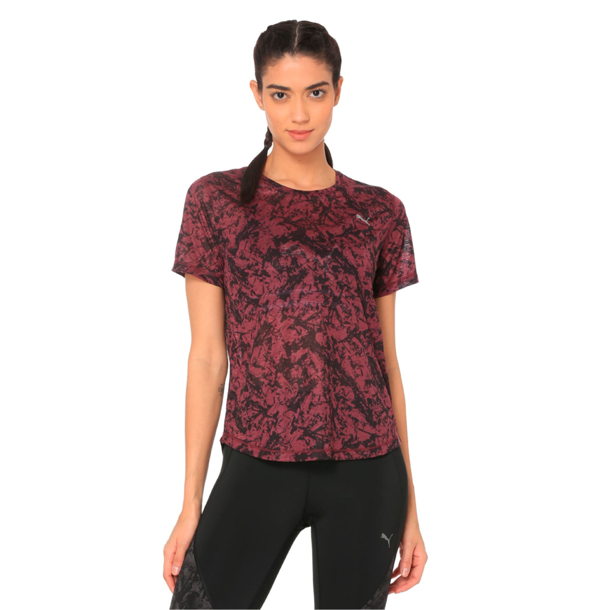 Thumbnail 4 of Graphic Women's Training Top, fig, medium-IND