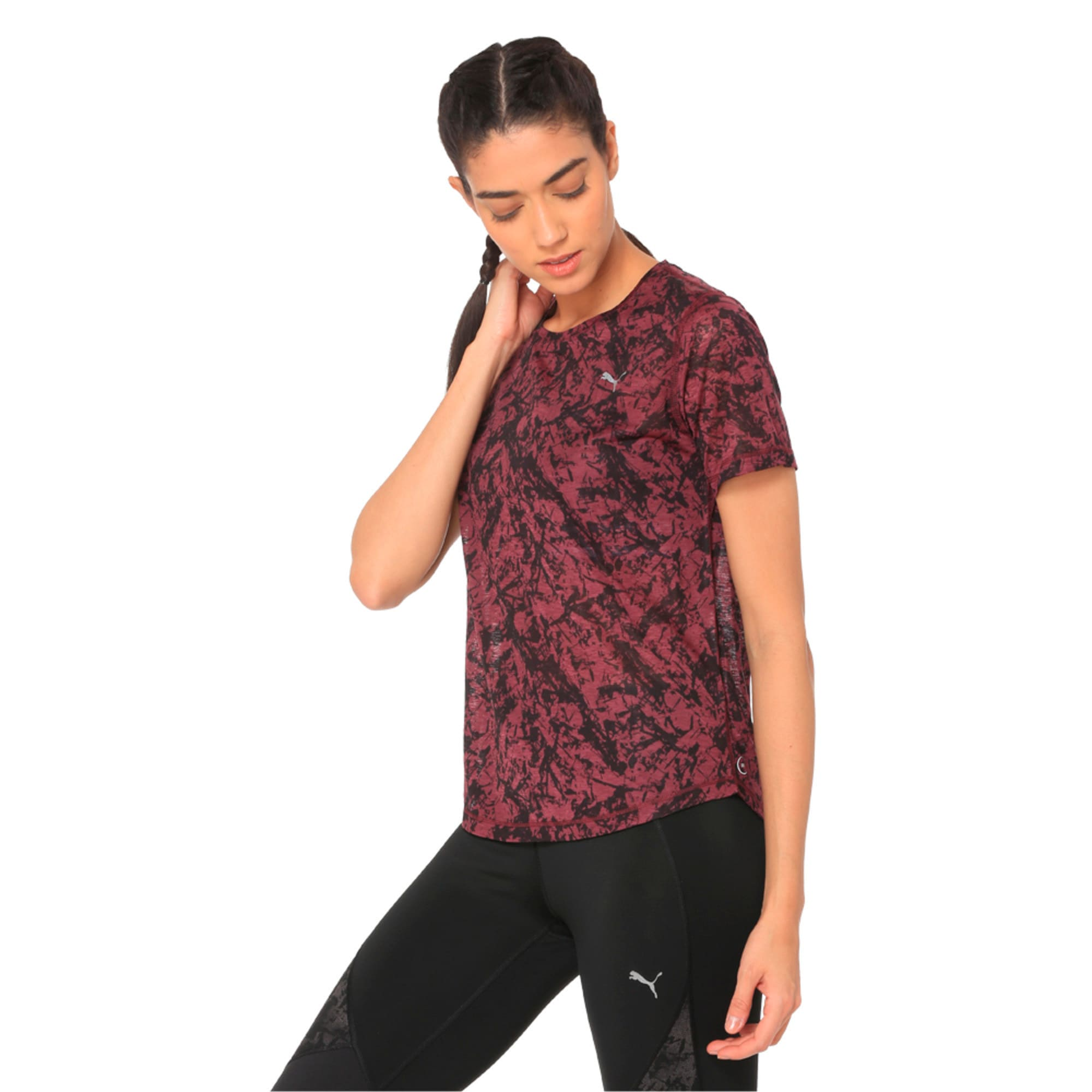 Thumbnail 3 of Graphic Women's Training Top, fig, medium-IND
