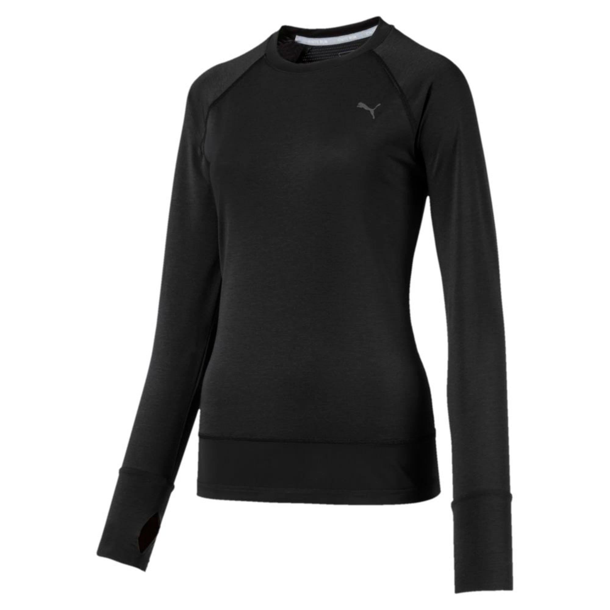 Thumbnail 5 of Winter Long Sleeve Women's Training Top, Puma Black, medium-IND