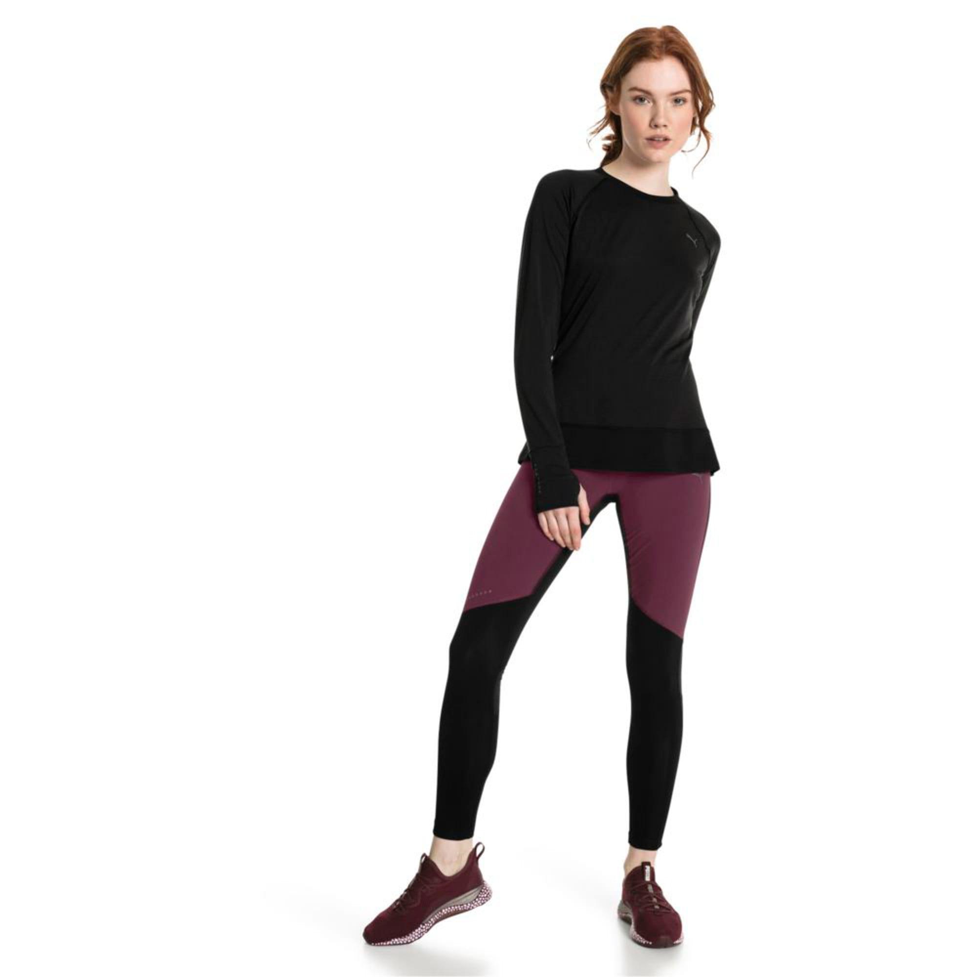 Thumbnail 3 of Winter Long Sleeve Women's Training Top, Puma Black, medium-IND