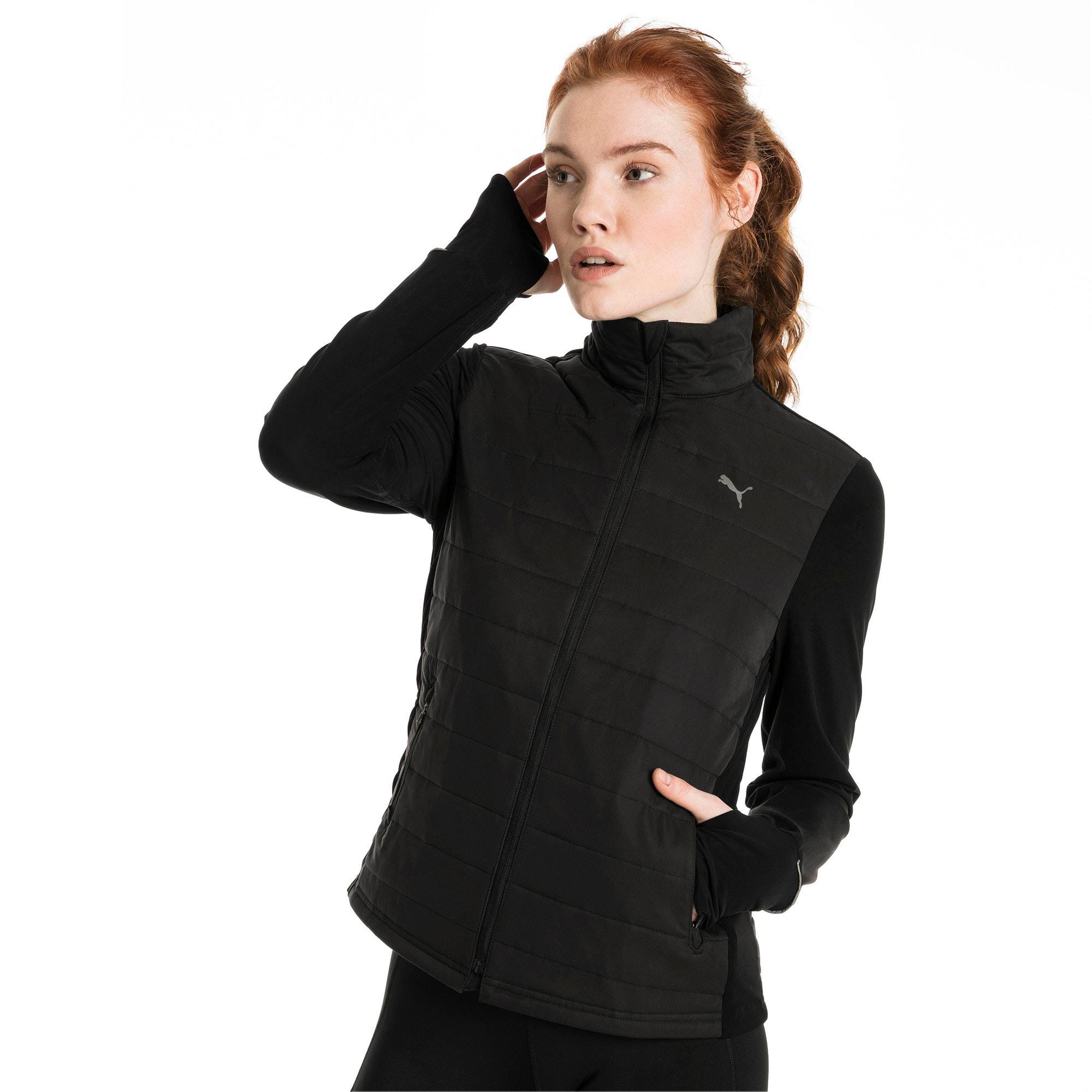 Thumbnail 2 of Winter Zip-Up Women's Jacket, Puma Black, medium
