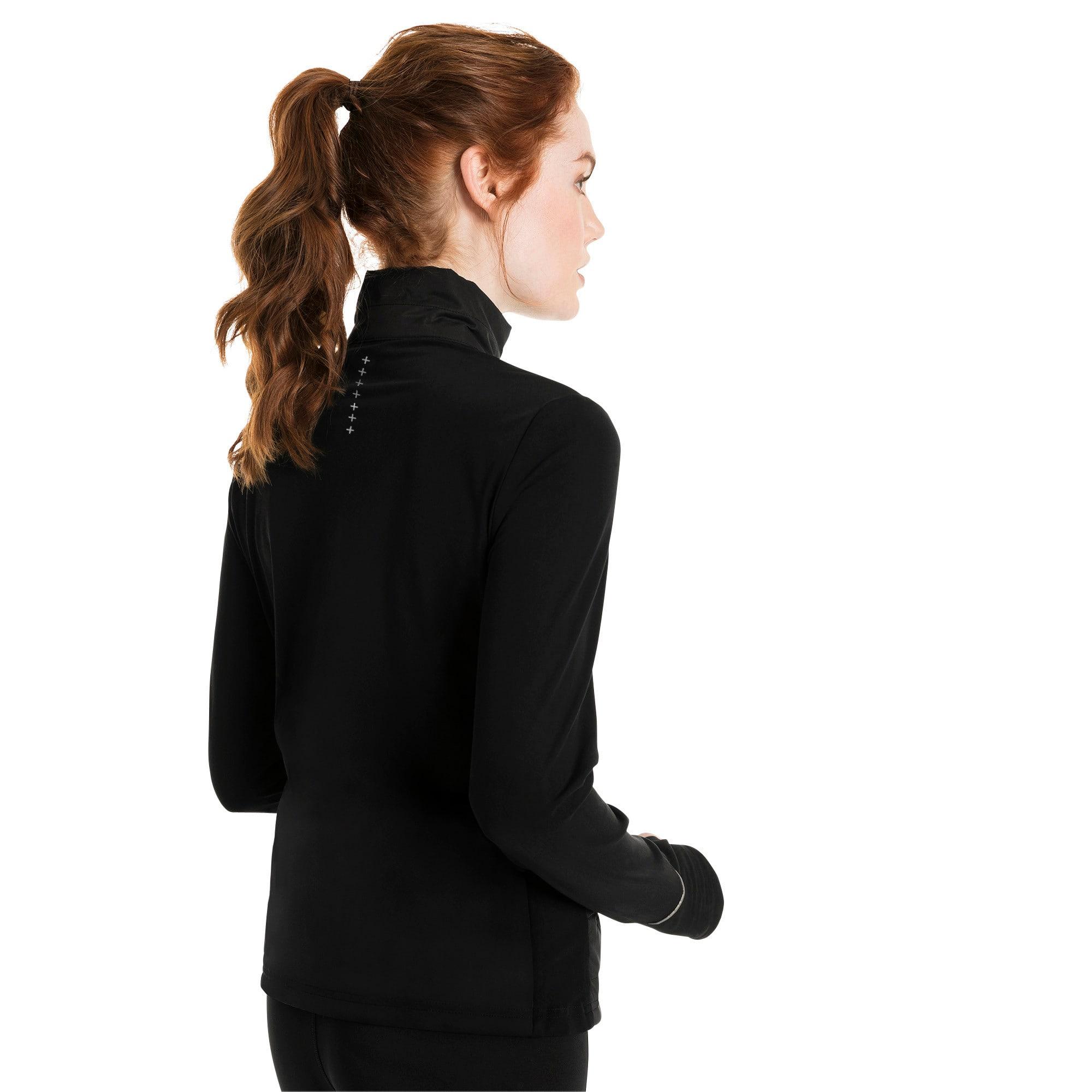 Thumbnail 3 of Winter Zip-Up Women's Jacket, Puma Black, medium