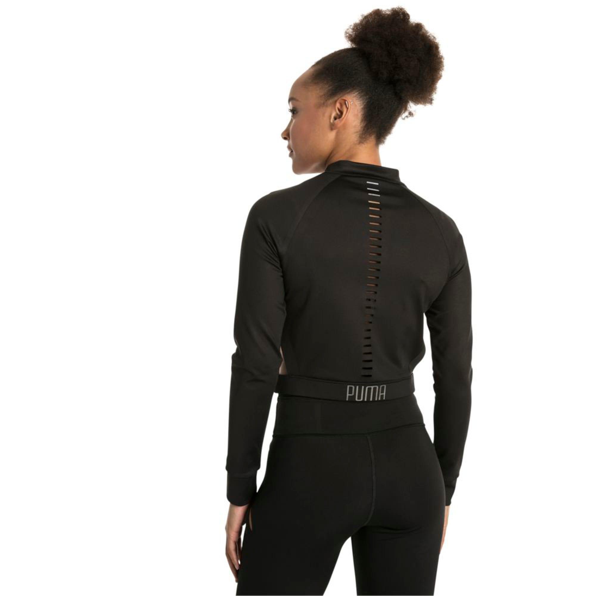 Thumbnail 6 of Explosive Cut-Out Women's Jacket, Puma Black, medium-IND