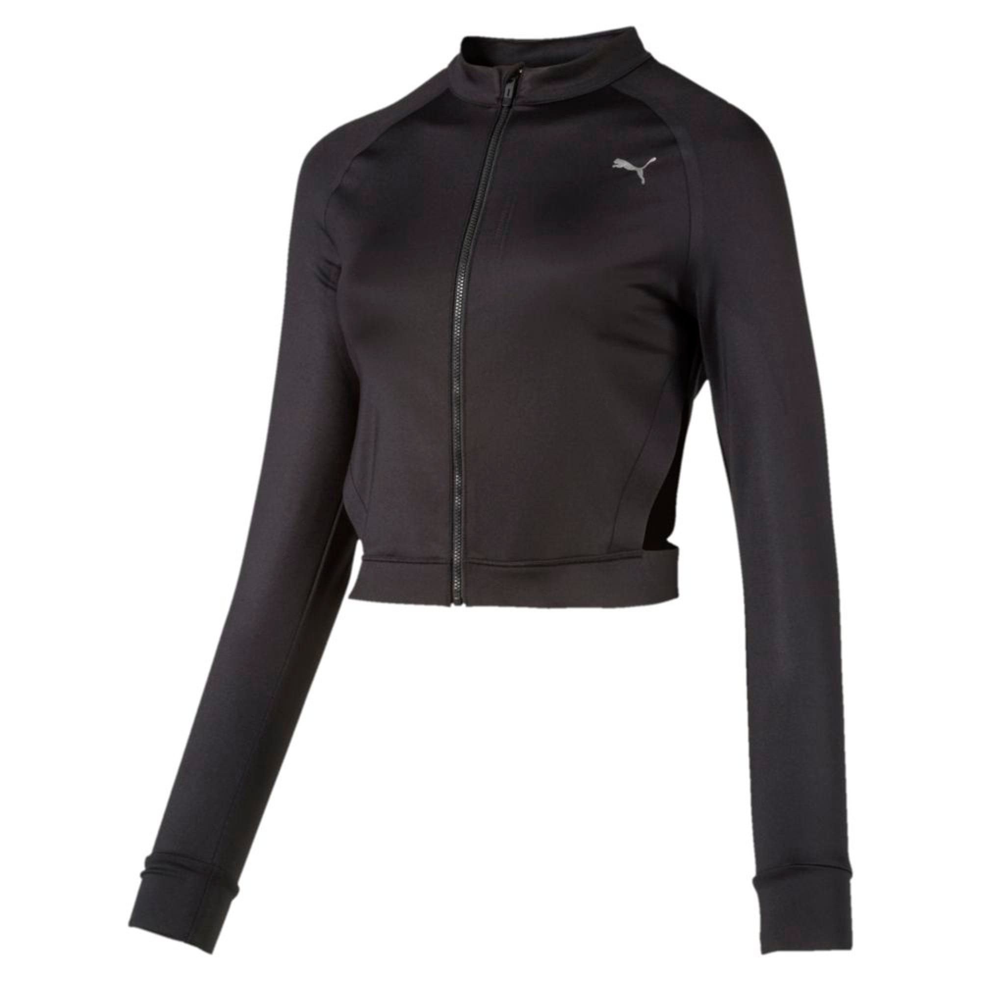 Thumbnail 5 of Explosive Cut-Out Women's Jacket, Puma Black, medium-IND