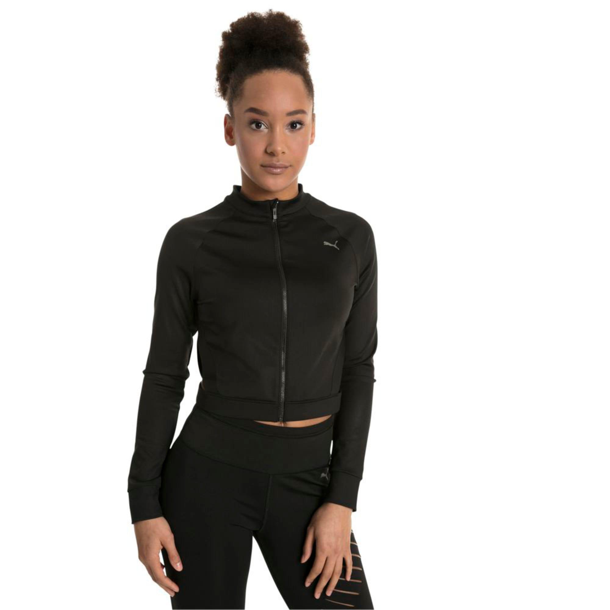 Thumbnail 1 of Explosive Cut-Out Women's Jacket, Puma Black, medium-IND