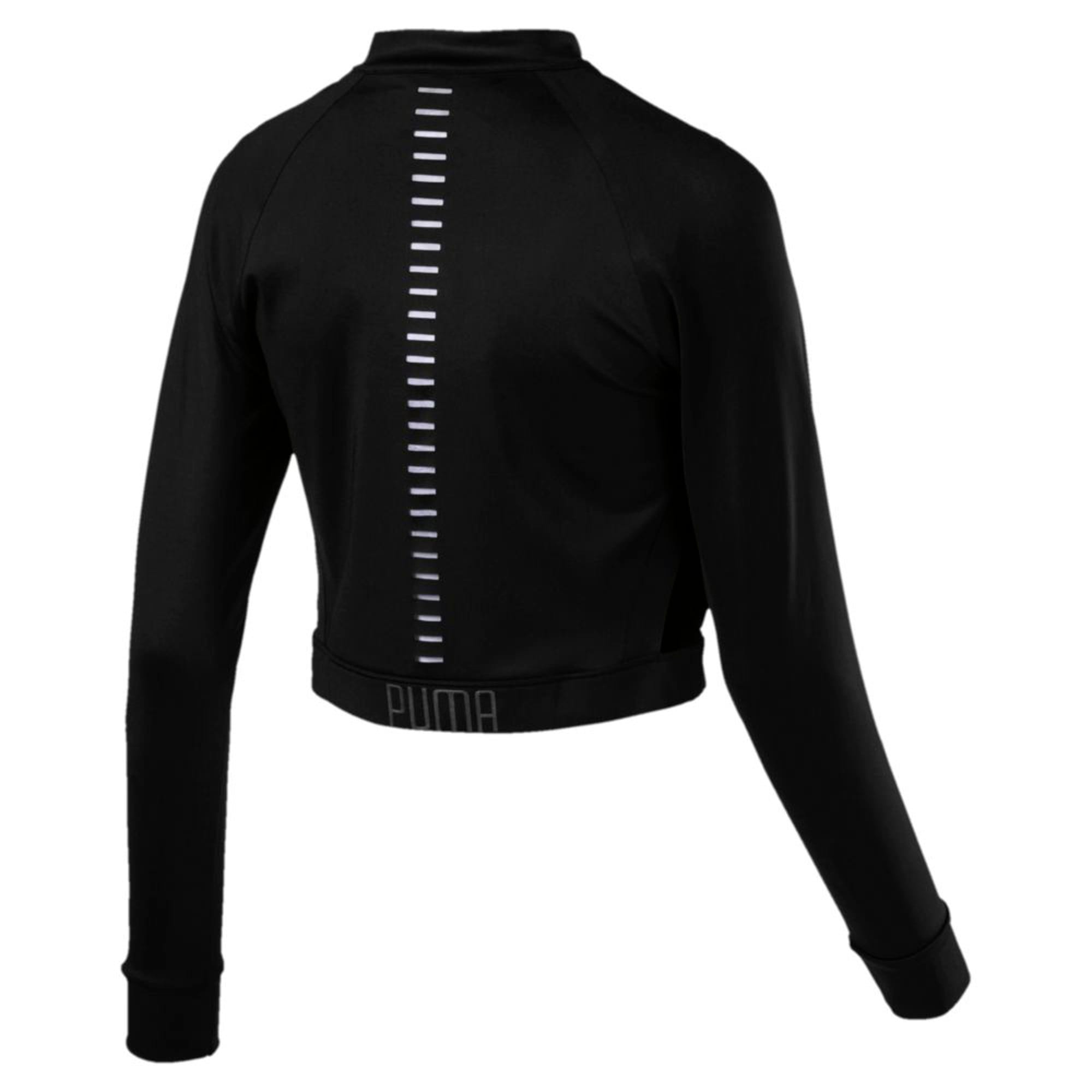 Thumbnail 3 of Explosive Cut-Out Women's Jacket, Puma Black, medium-IND