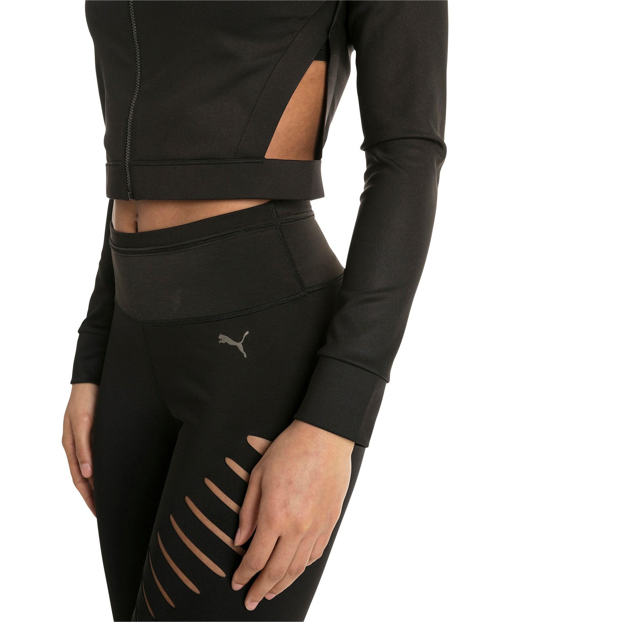 Thumbnail 4 of Explosive Cut-Out Women's Jacket, Puma Black, medium-IND