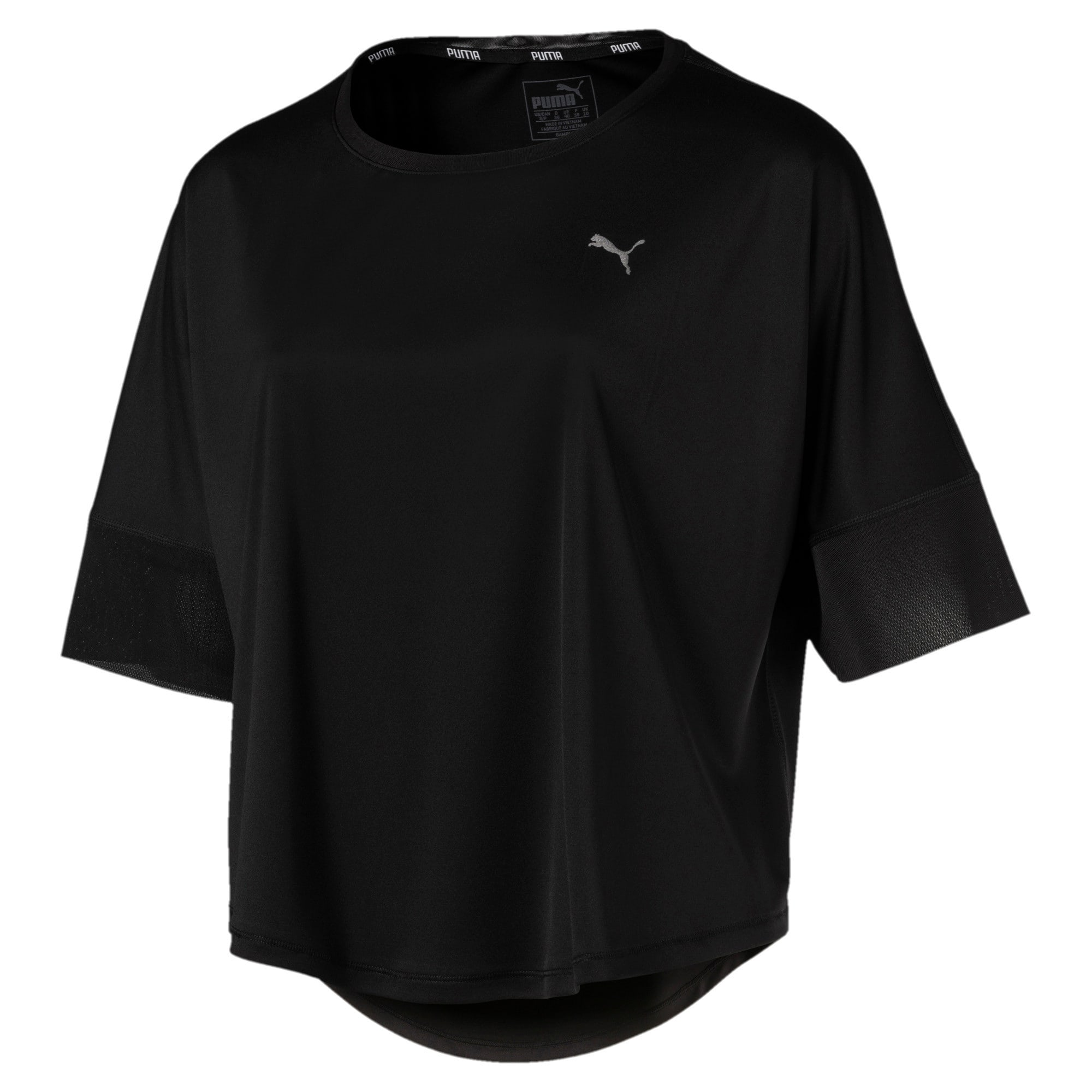 Thumbnail 4 of Explosive Women's Training Top, Puma Black, medium-IND