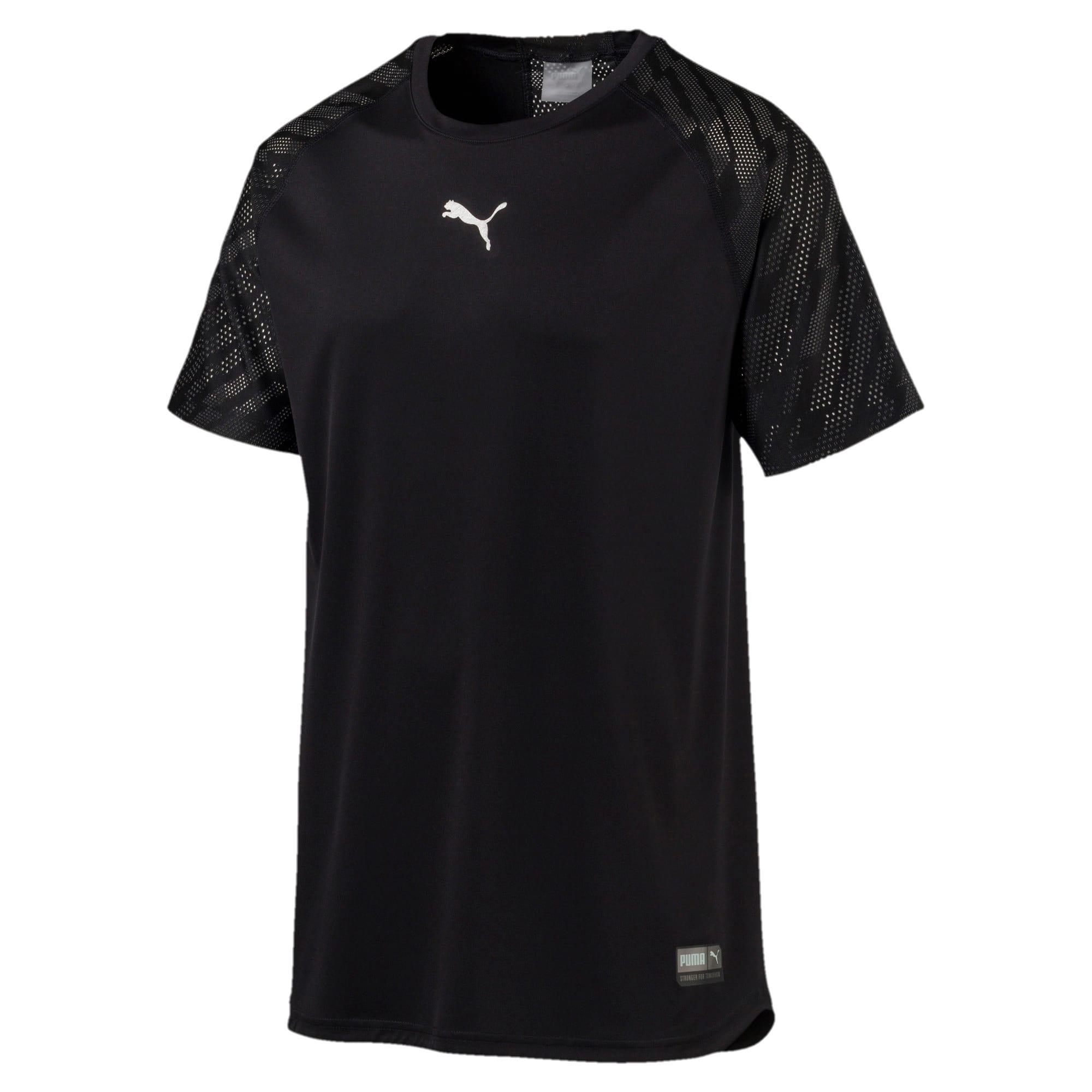 Thumbnail 5 of VENT Graphic Men's T-Shirt, Puma Black-iron gate, medium-IND