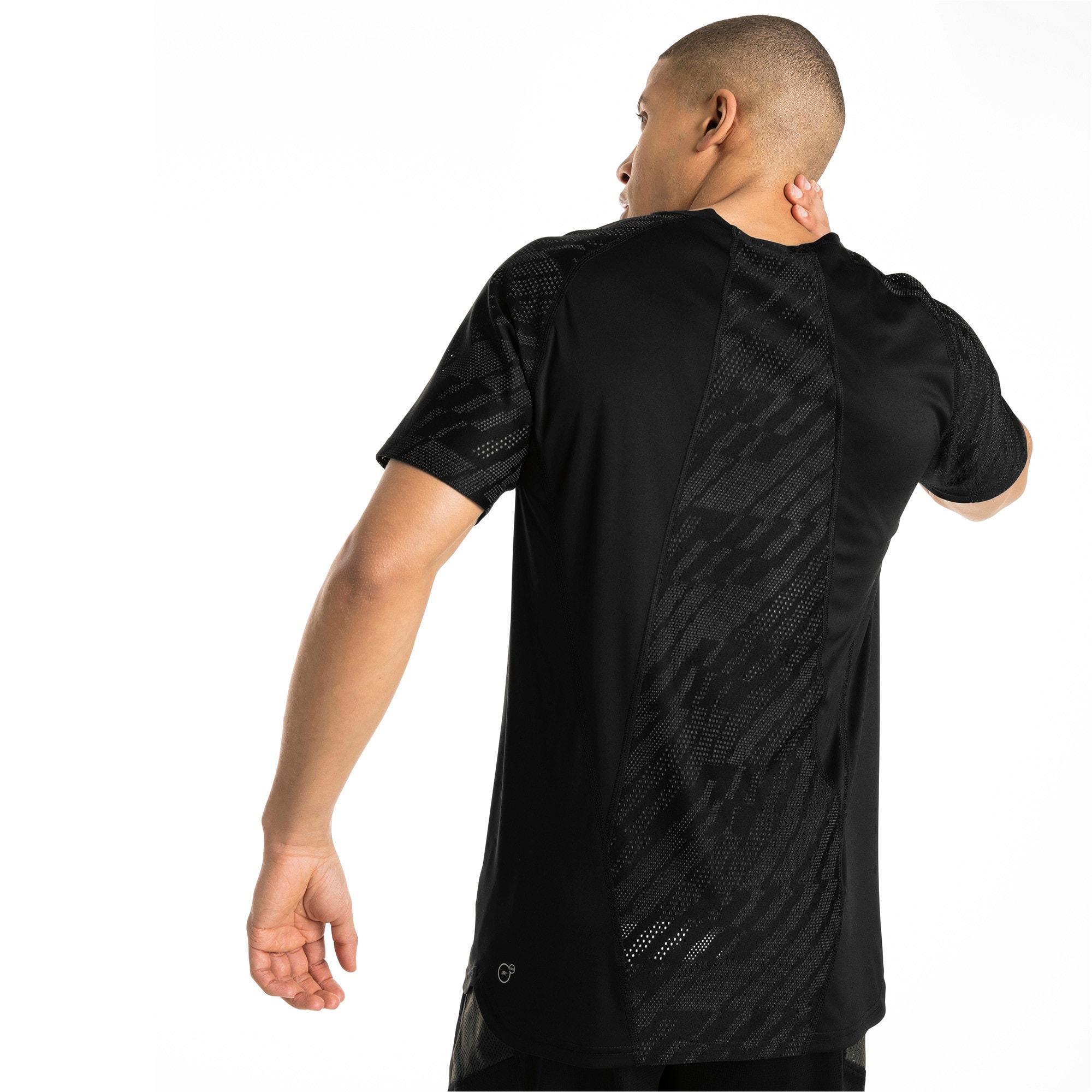 Thumbnail 2 of VENT Graphic Men's T-Shirt, Puma Black-iron gate, medium-IND