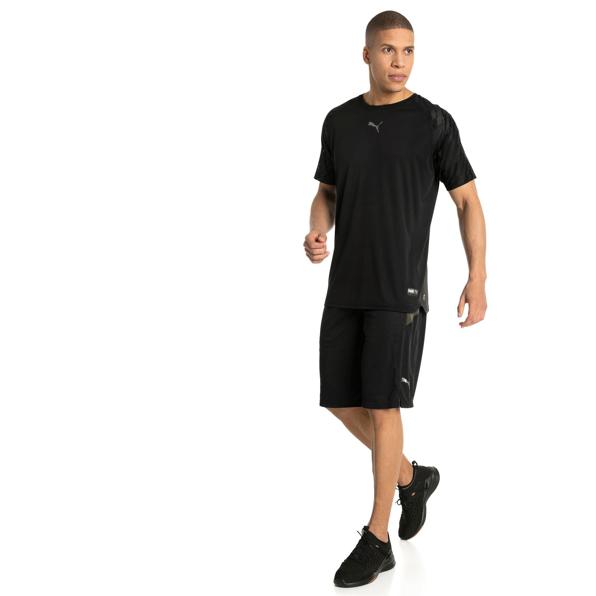 Thumbnail 3 of VENT Graphic Men's T-Shirt, Puma Black-iron gate, medium-IND