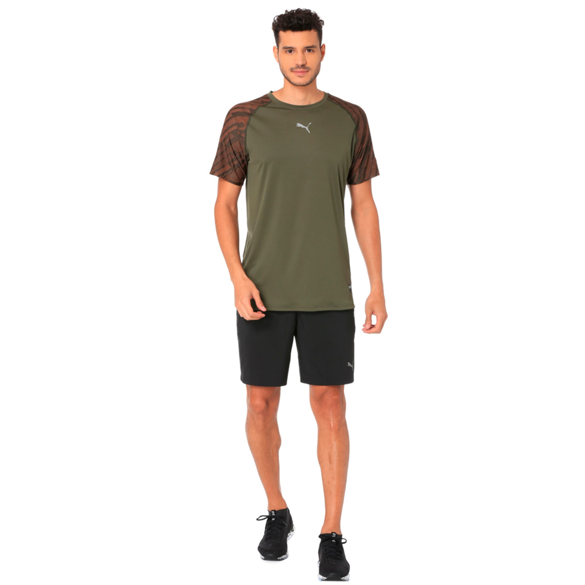Thumbnail 2 of VENT Graphic Men's T-Shirt, Forest Night, medium-IND