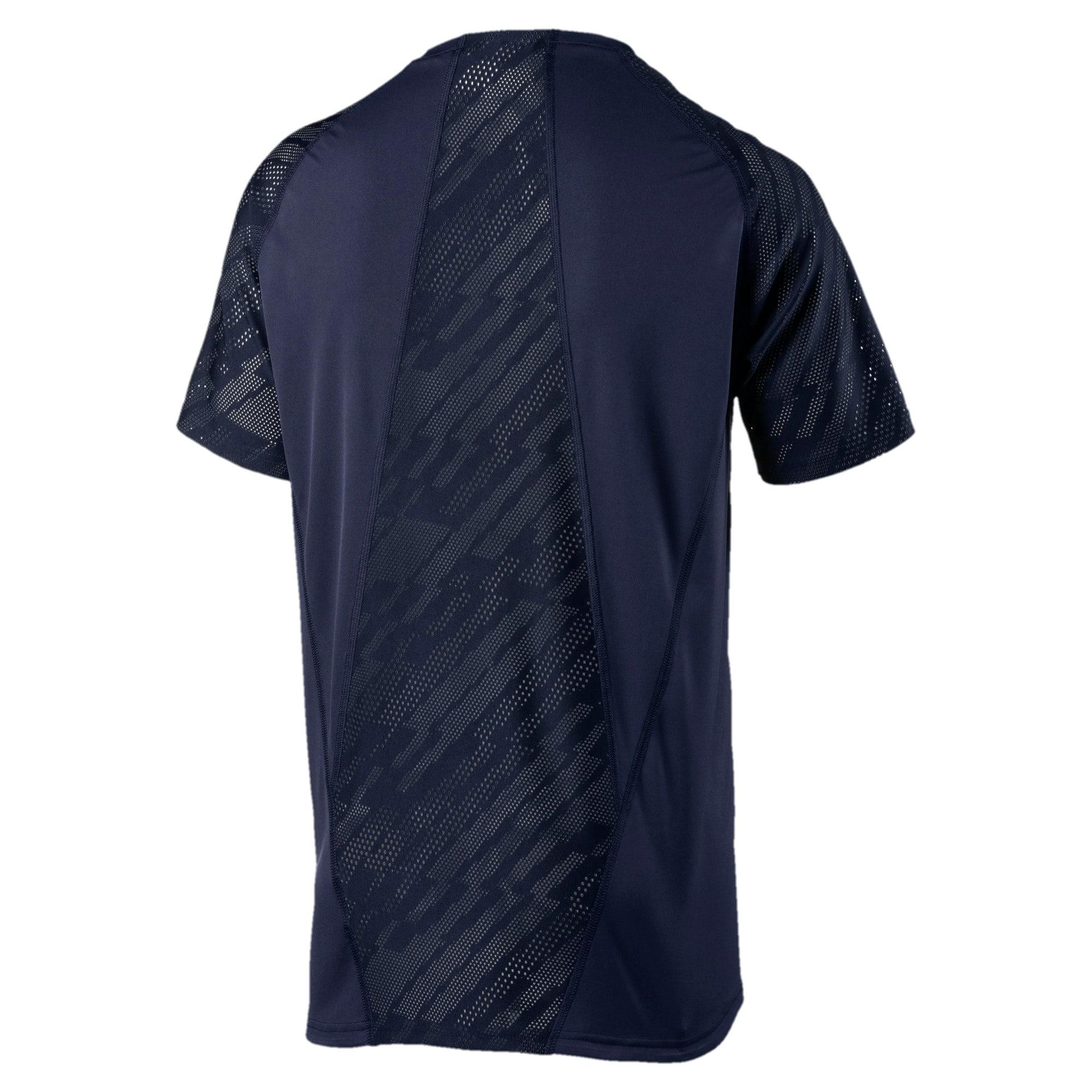 Thumbnail 4 of VENT Graphic Men's T-Shirt, Peacoat-iron gate, medium