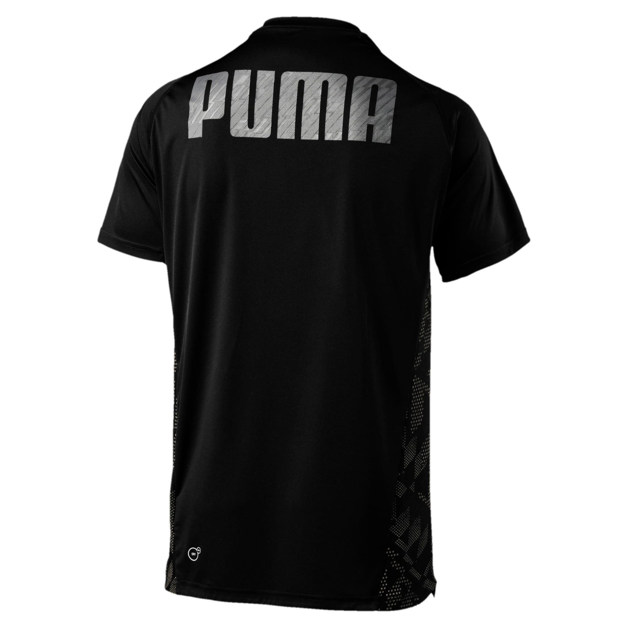 Thumbnail 5 of VENT Short Sleeve Men's Training Top, Puma Black-Q4, medium-IND