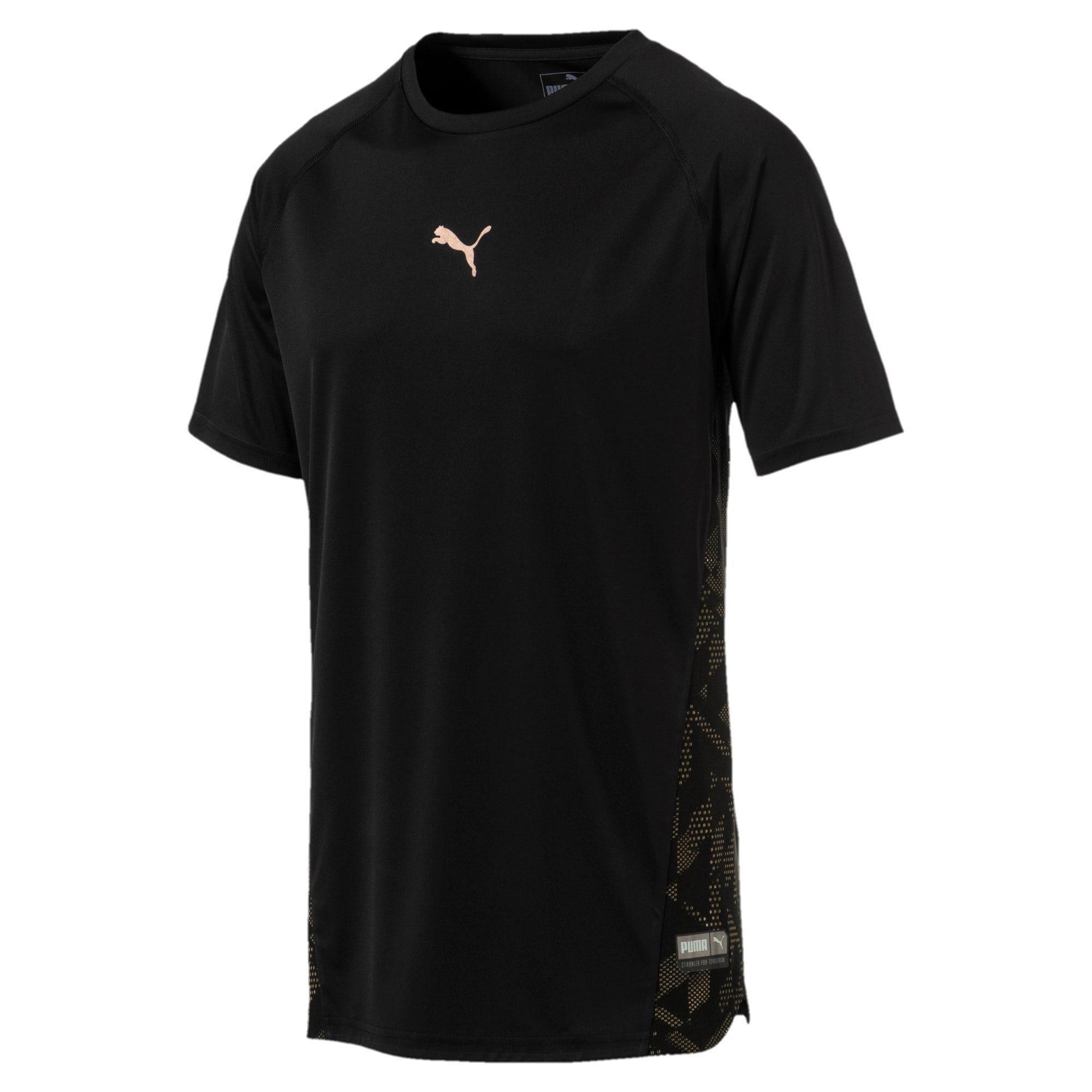 Thumbnail 1 of VENT Short Sleeve Men's Training Top, Puma Black-Q4, medium-IND