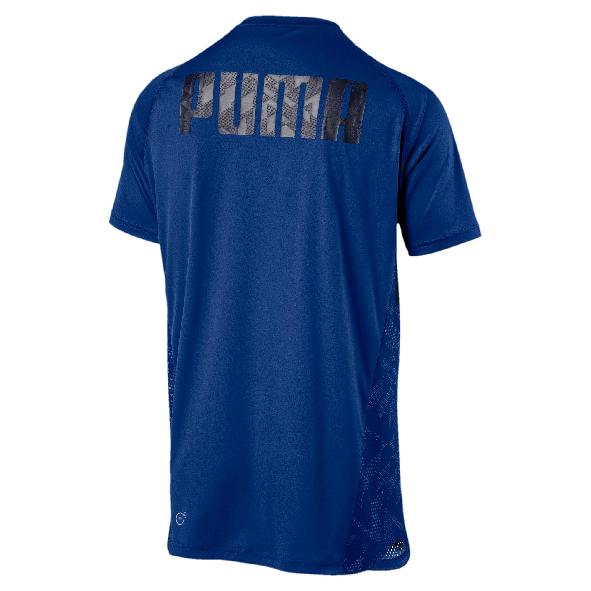 Thumbnail 3 of VENT Short Sleeve Men's Training Top, Sodalite Blue, medium