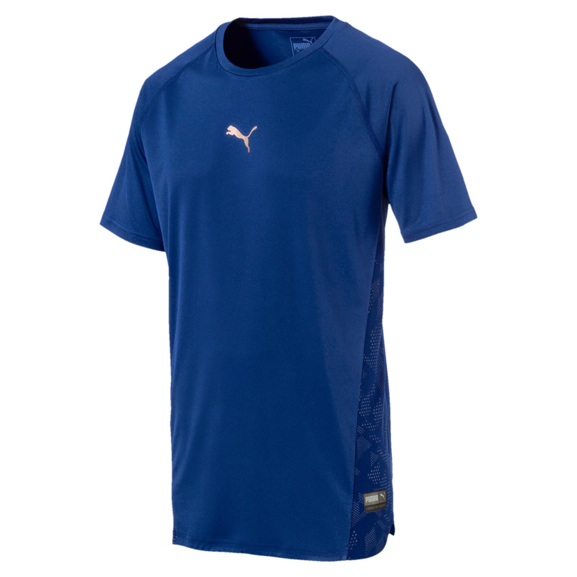 Thumbnail 1 of VENT Short Sleeve Men's Training Top, Sodalite Blue, medium