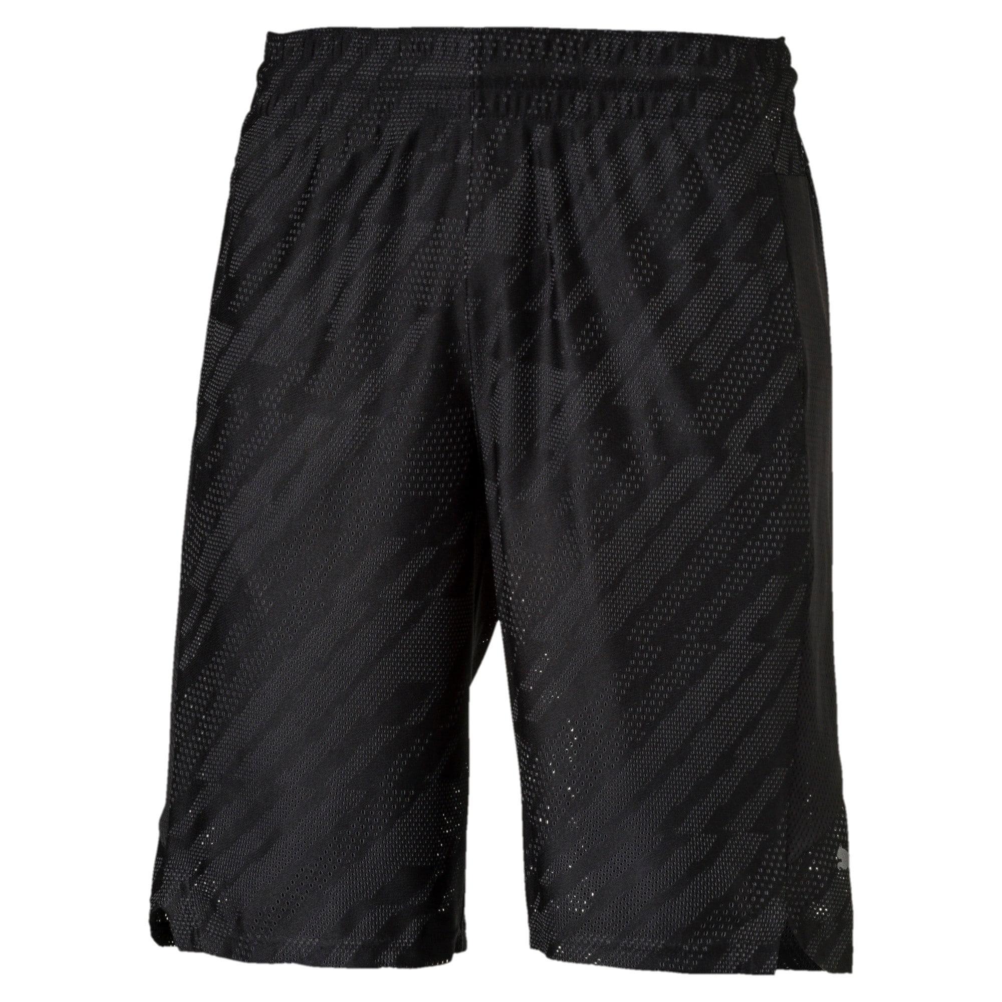 "Thumbnail 4 of VENT 10"" Men's Knit Shorts, Puma Black-Iron Gate, medium-IND"