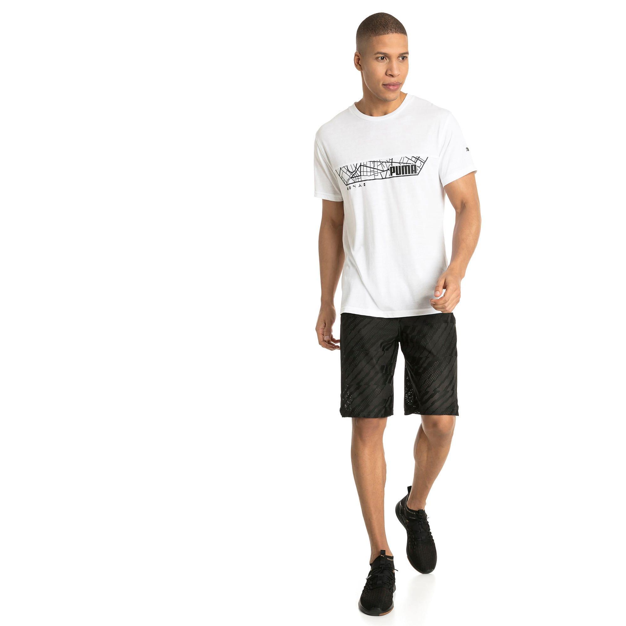 "Thumbnail 3 of VENT 10"" Men's Knit Shorts, Puma Black-Iron Gate, medium-IND"