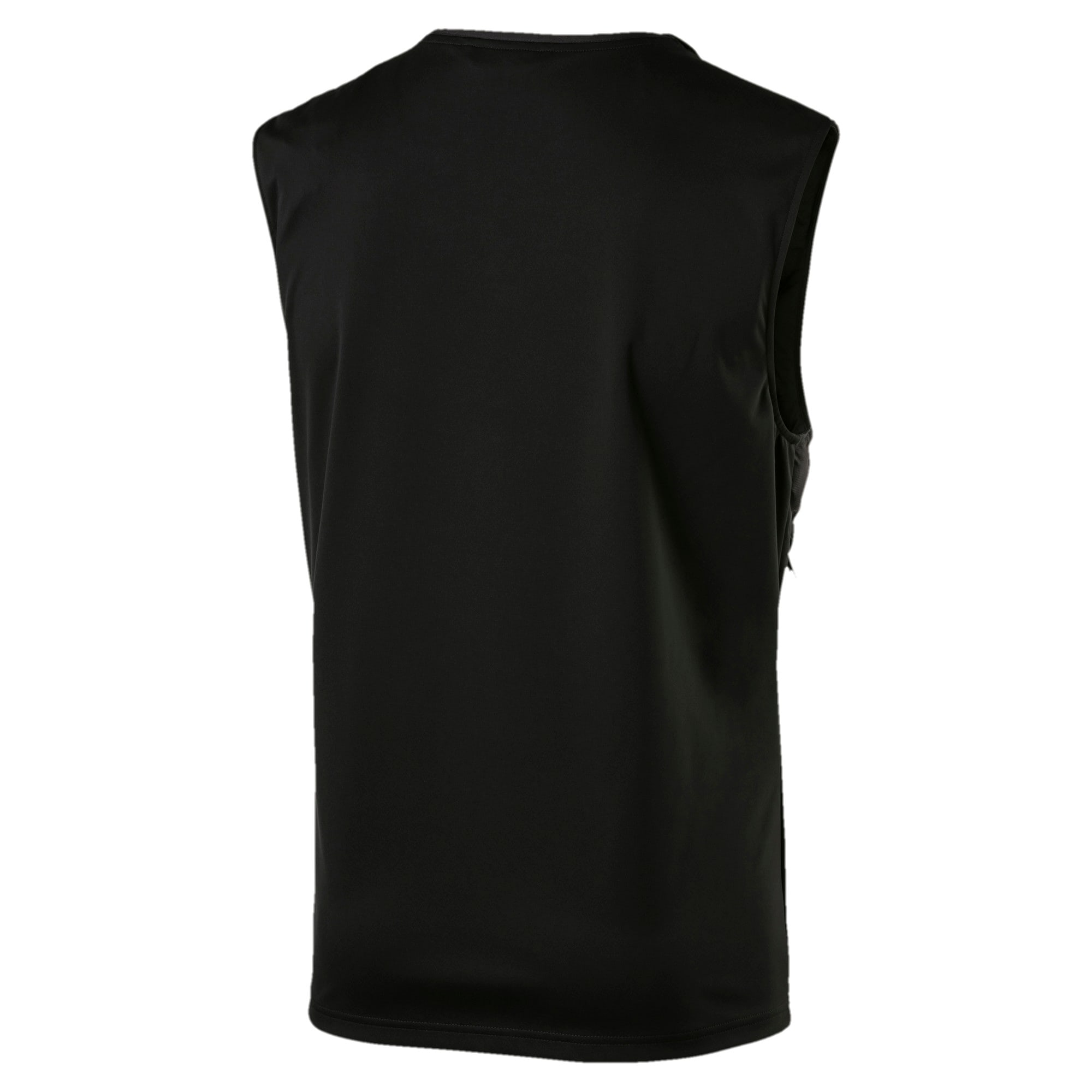 Thumbnail 4 of NeverRunBack Men's Protect Vest, Puma Black, medium-IND